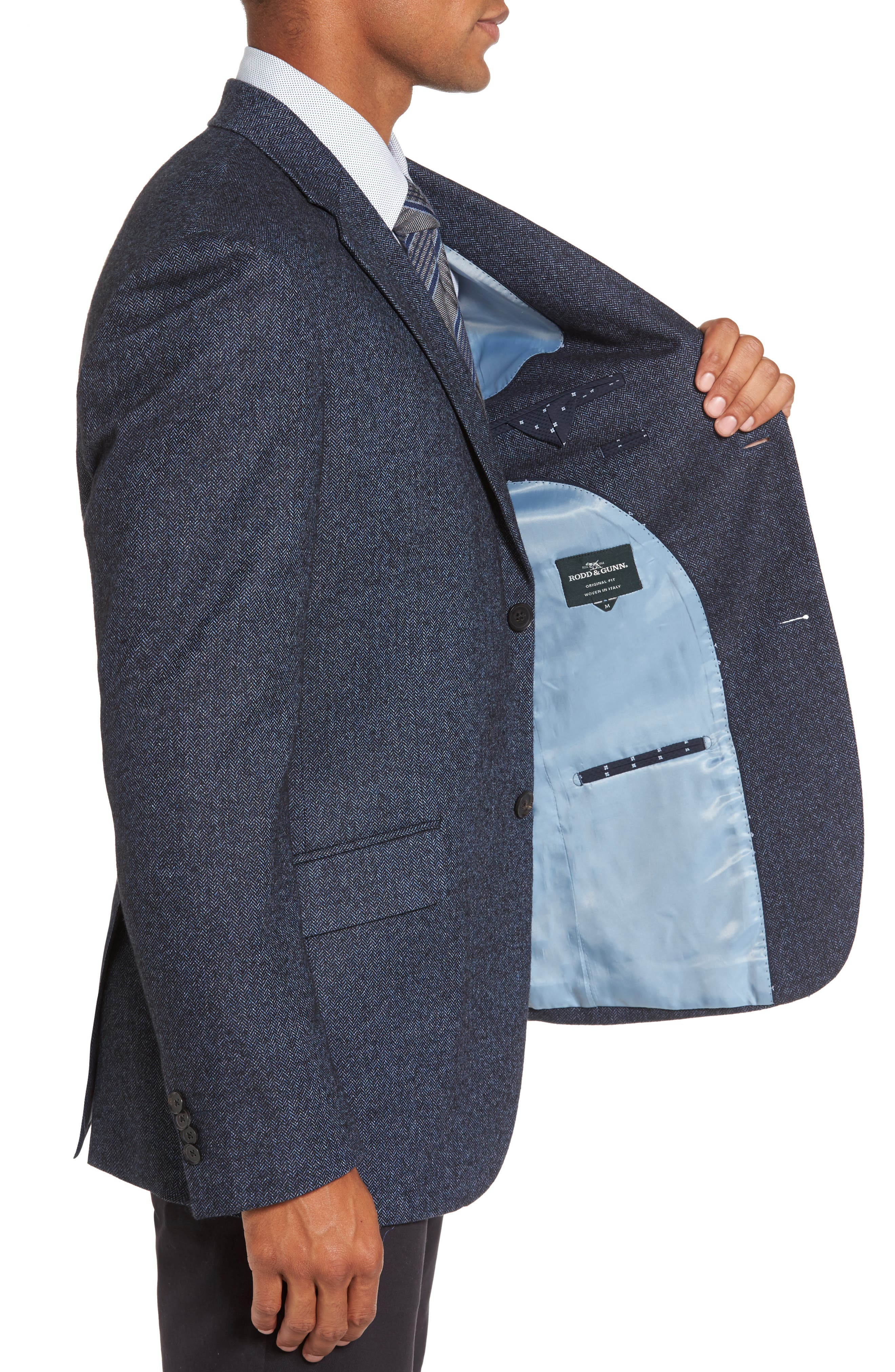 Alternate Image 3  - Rodd & Gunn Charring Cross Original Fit Herringbone Sport Coat