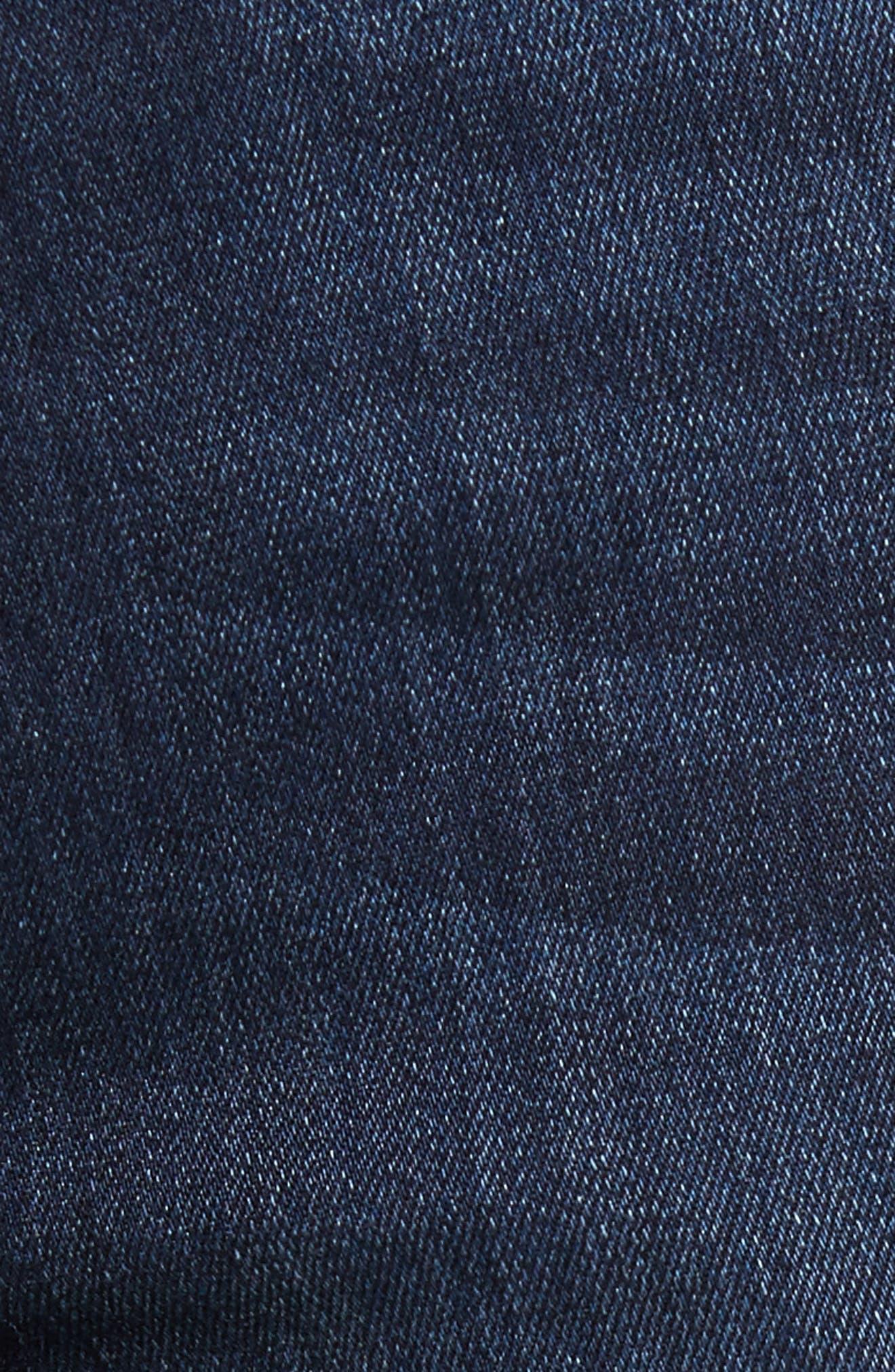 Alternate Image 5  - PAIGE Transcend - Federal Slim Straight Leg Jeans (Barron)