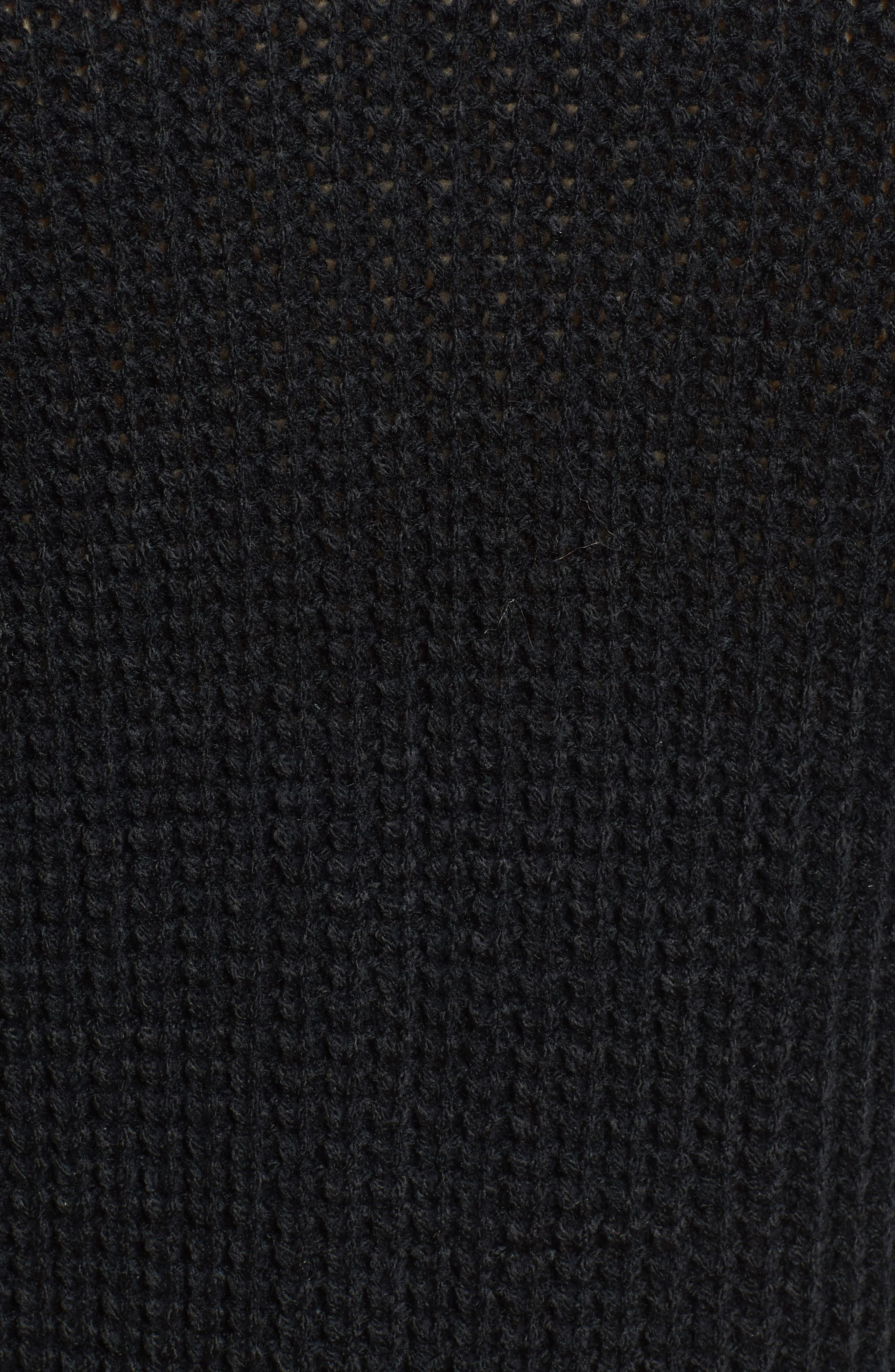 Faux Pearl Detail Cardigan,                             Alternate thumbnail 5, color,                             Black