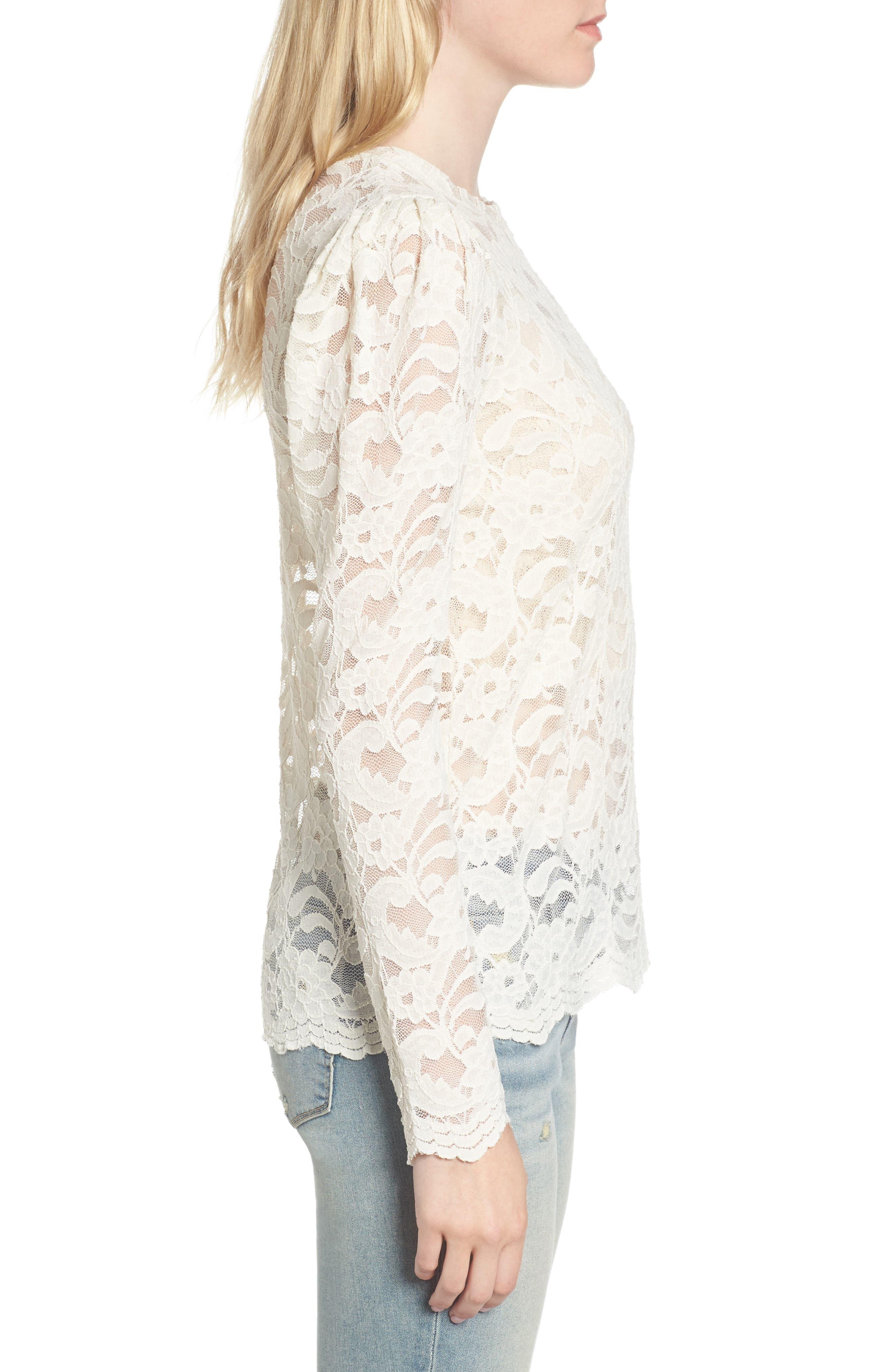 Alternate Image 3  - Hinge Lace Top