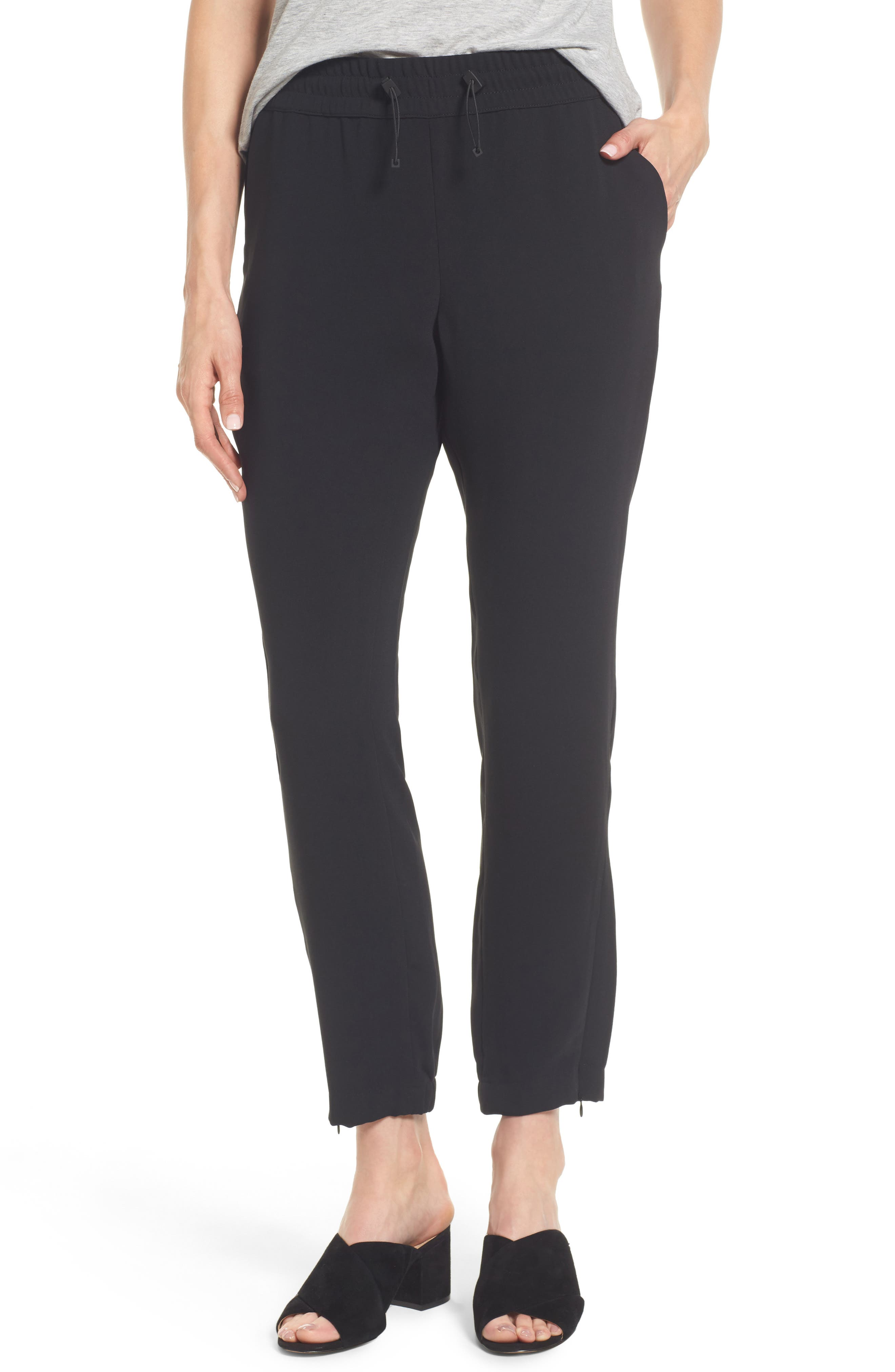 Kenneth Cole New York Zip Ankle Jogger Pants