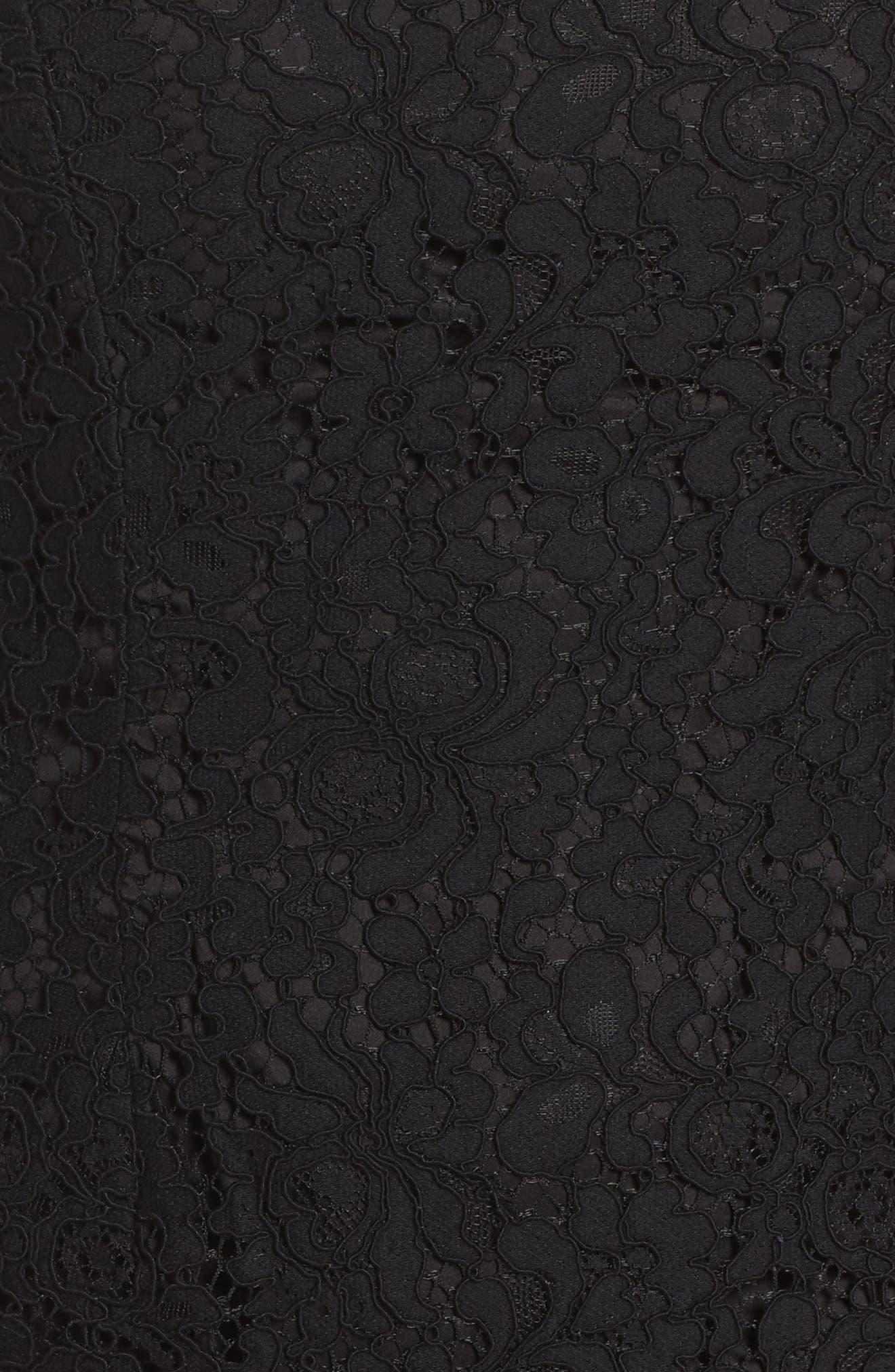 Alternate Image 5  - Bardot Solange Corded Lace Sheath Dress