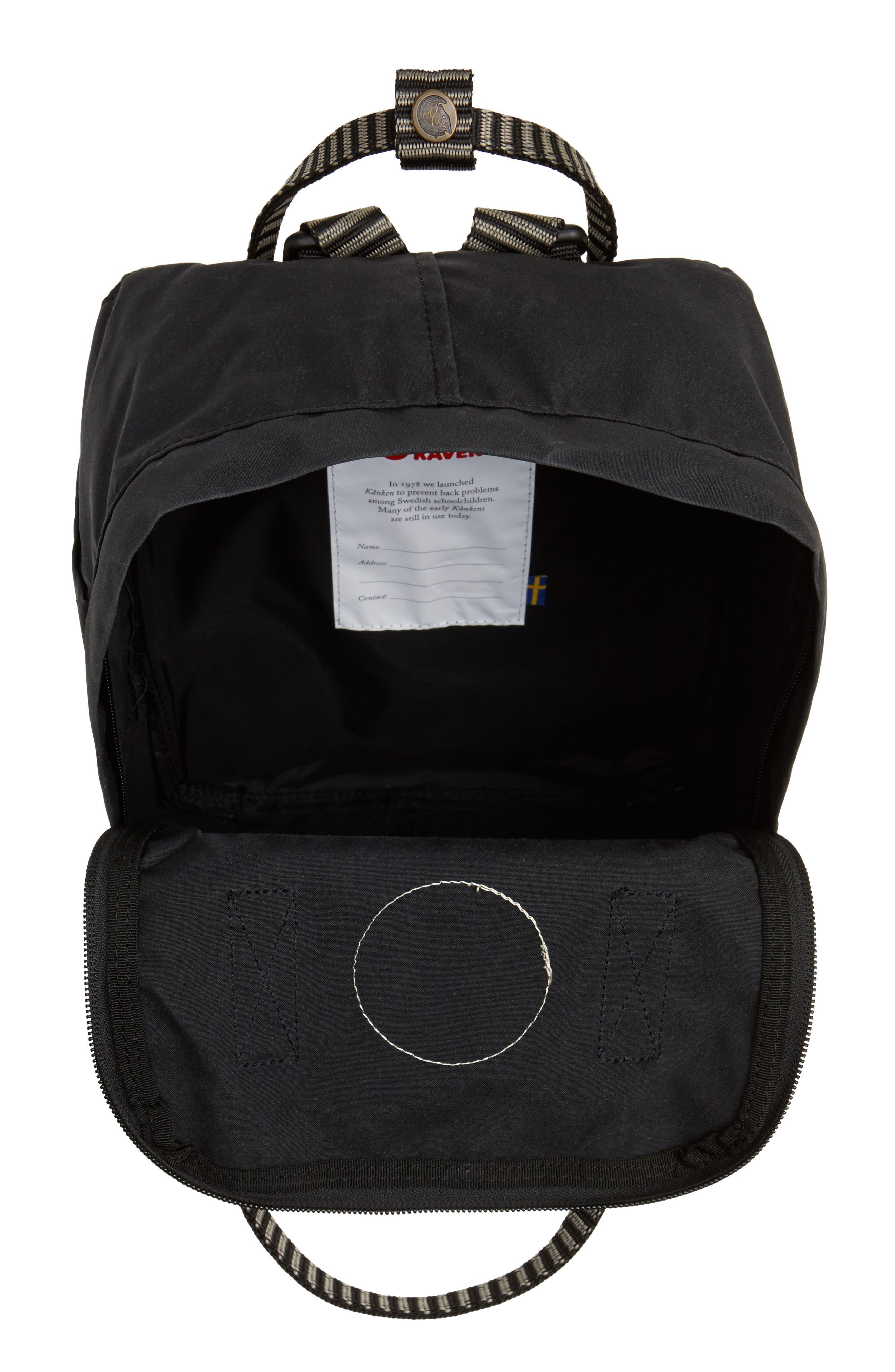 Alternate Image 4  - Fjällräven 'Mini Kånken' Water Resistant Backpack