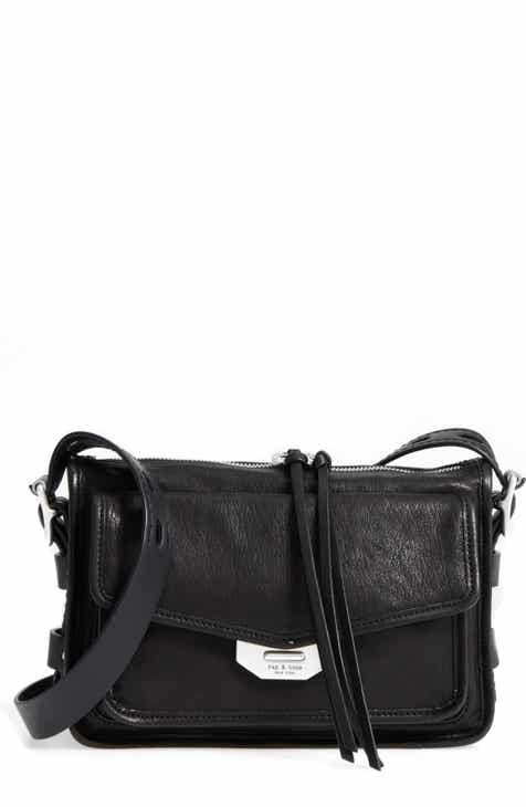 rag   bone Small Field Leather Messenger Bag f23edb93216cc