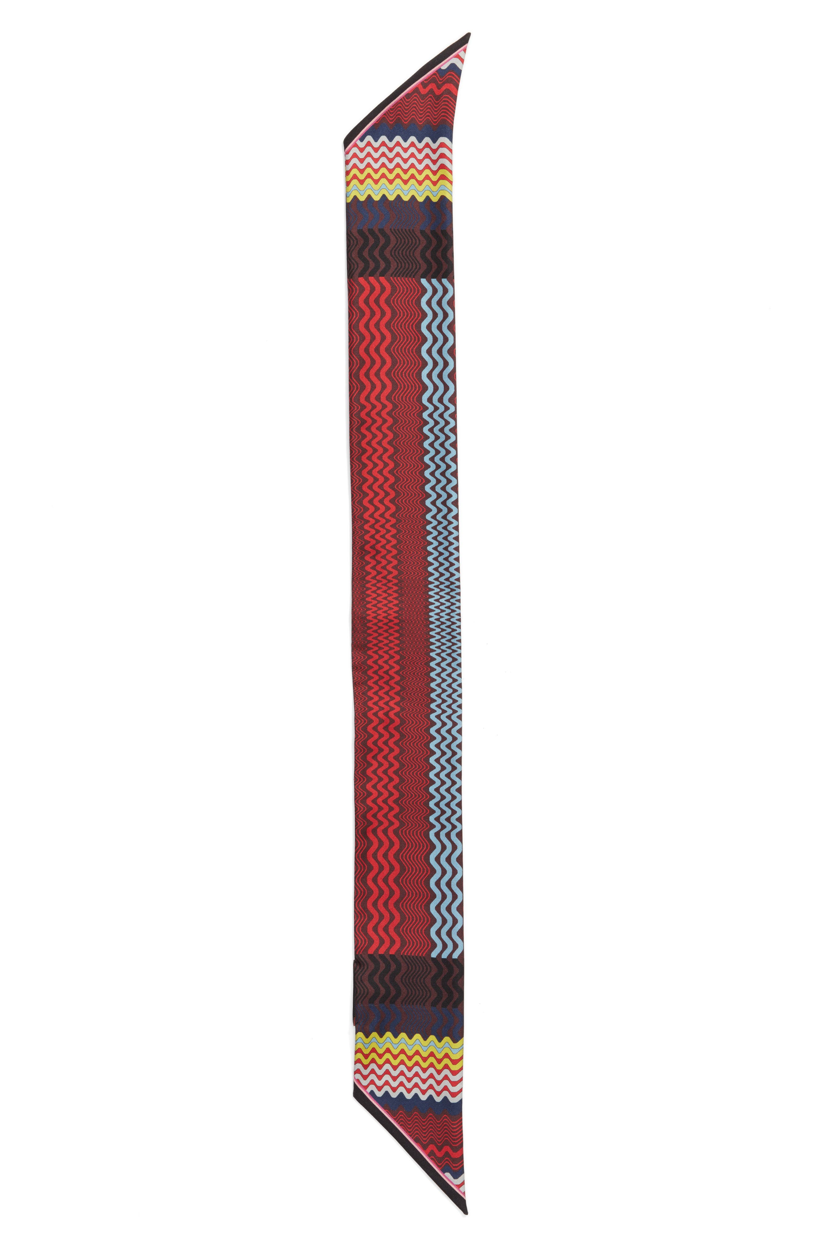 Missoni Maxi Silk Twilly Skinny Scarf