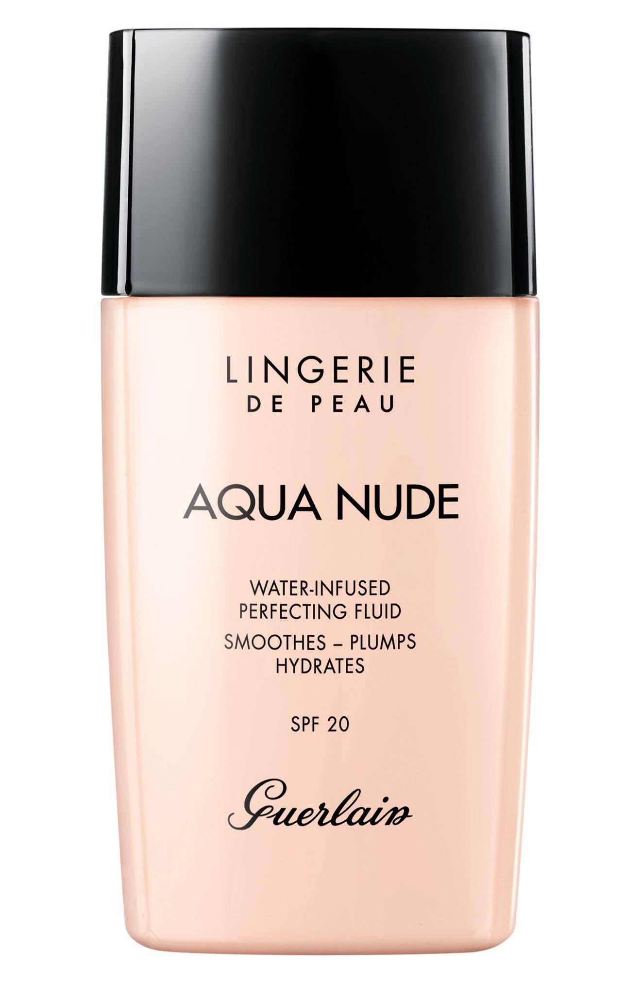 Main Image - Guerlain Lingerie de Peau Aqua Nude Foundation