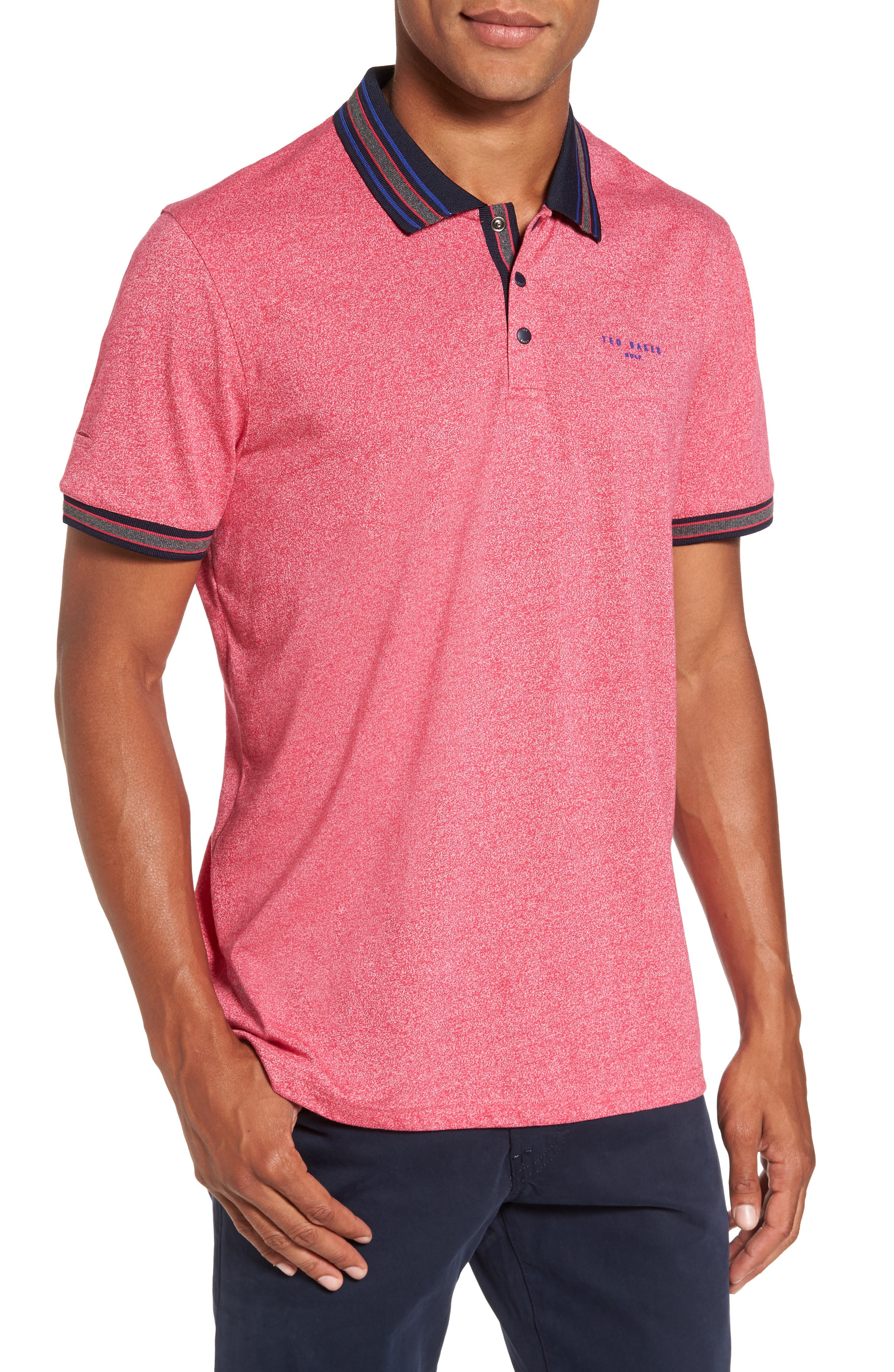 TED BAKER LONDON Fore Mouline Golf Polo