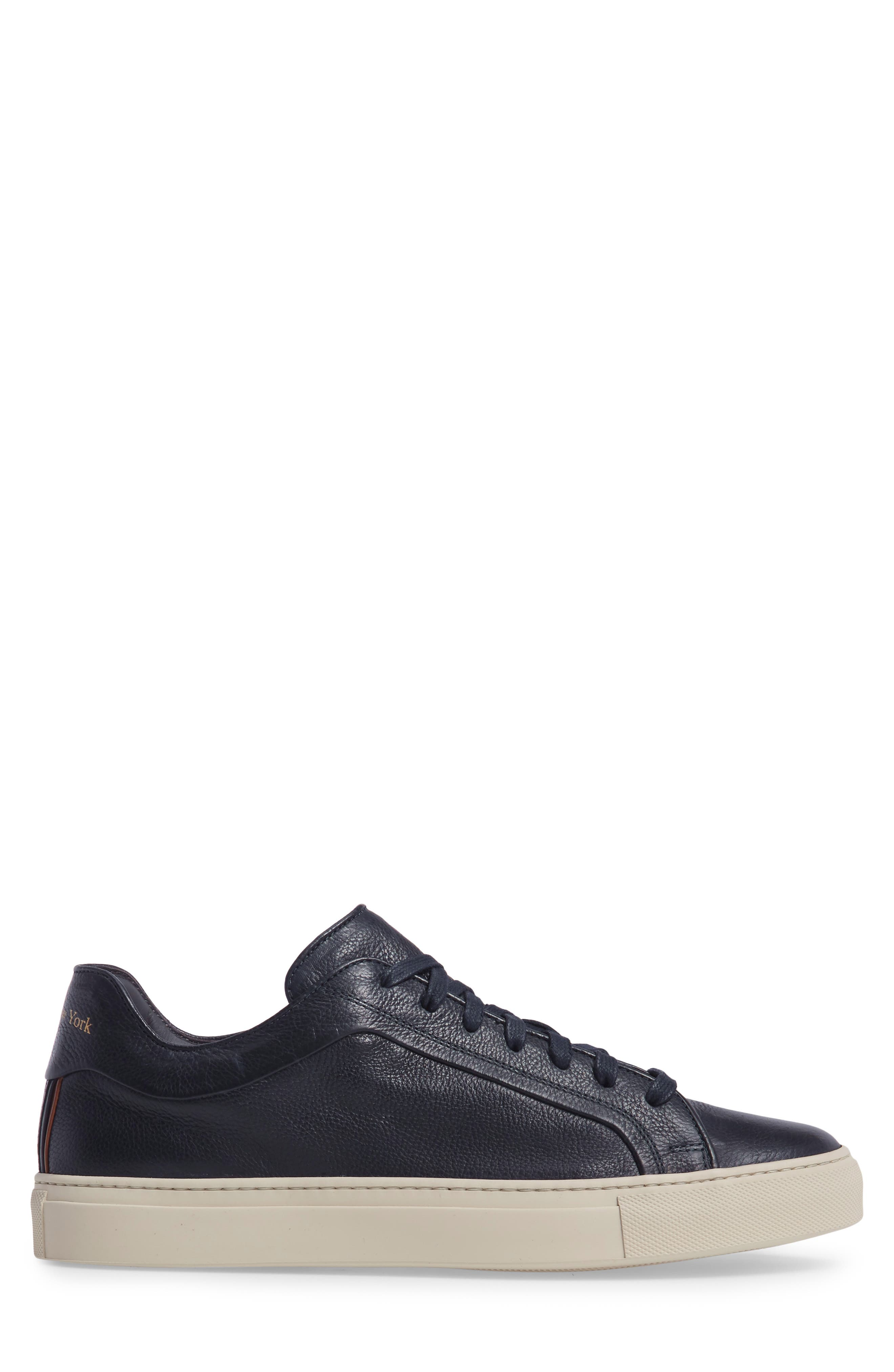 Thomas Sneaker,                             Alternate thumbnail 3, color,                             Blue Marine