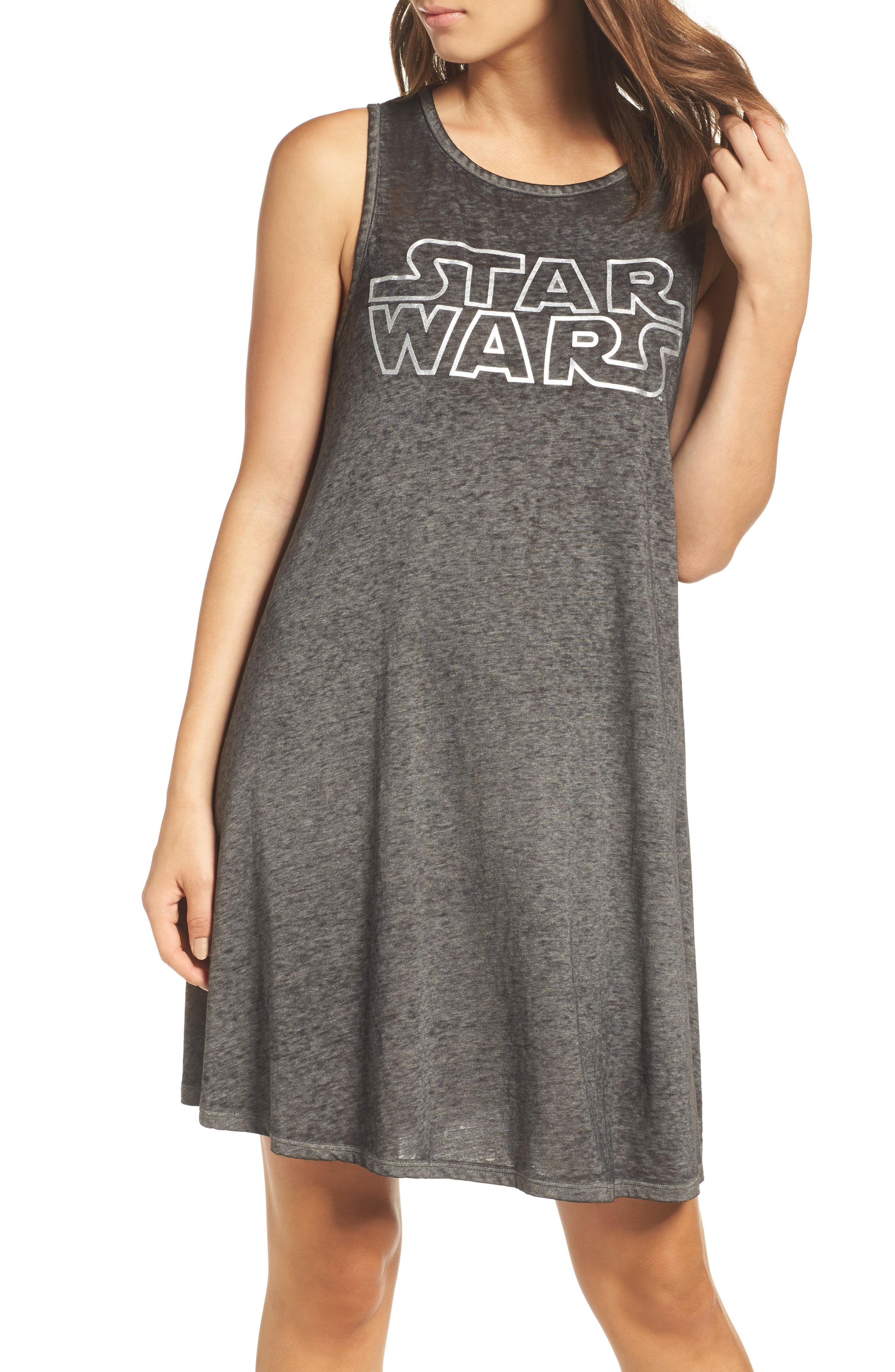Main Image - Retrospective Co. Star Wars™ Graphic Short Nightgown