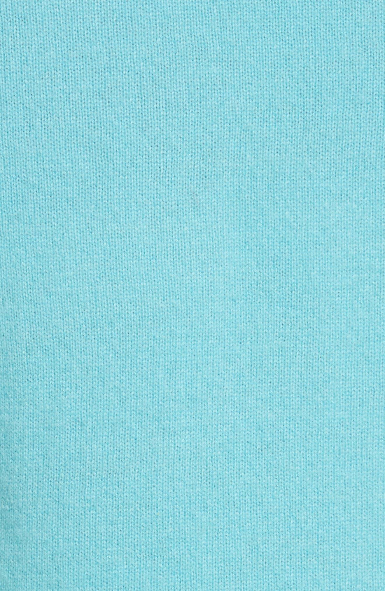 Alternate Image 5  - Diane von Furstenberg Mock Neck Cashmere Sweater