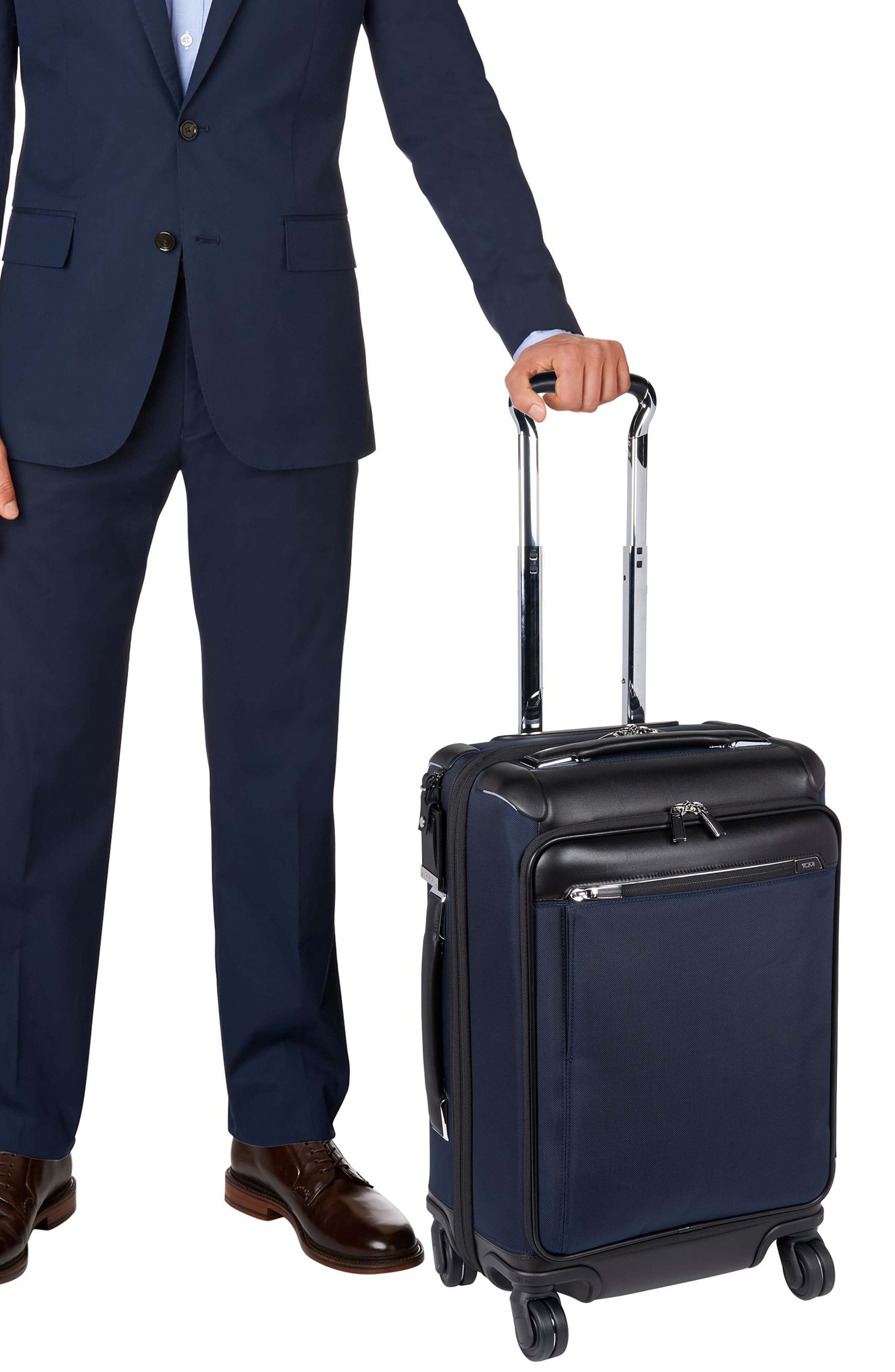 Gatwick 22-Inch International Expandable Carry-On,                             Alternate thumbnail 6, color,                             Navy