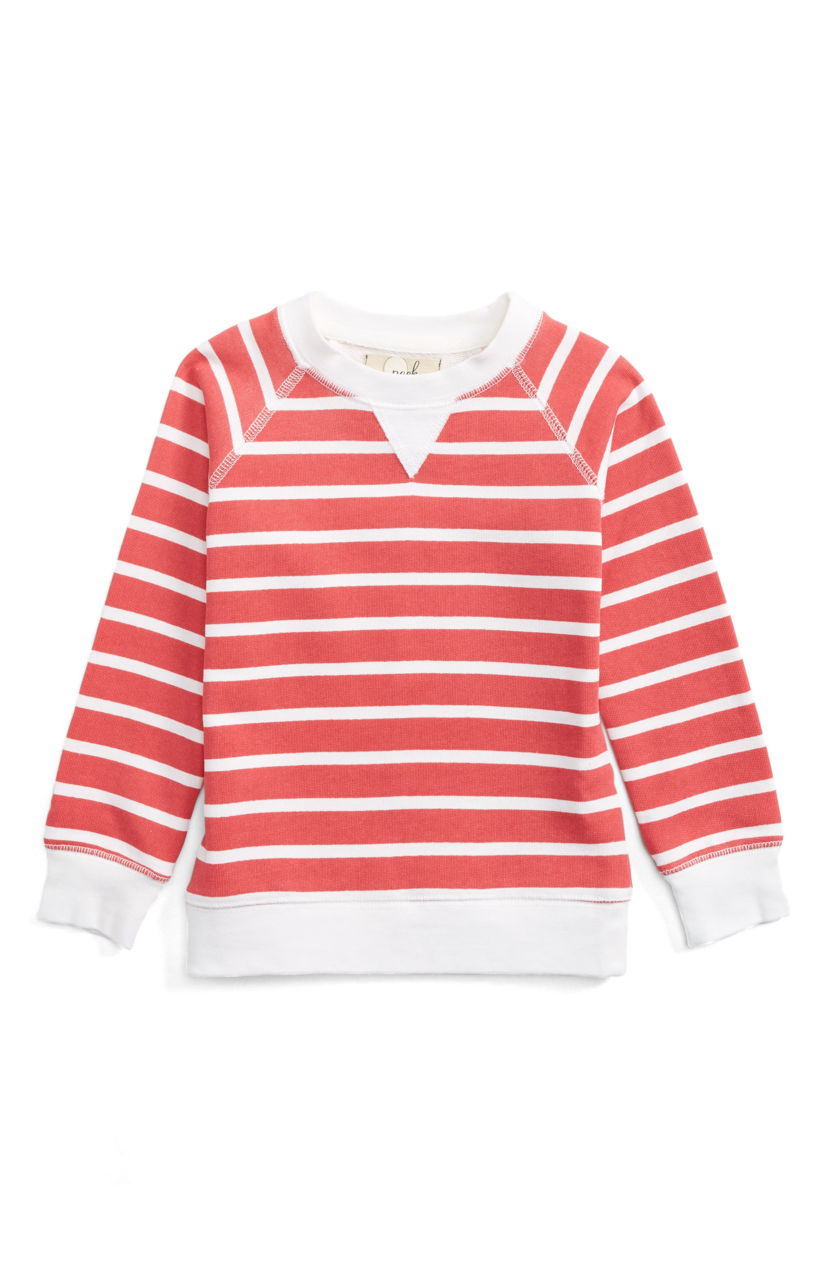 Peek Mason Stripe Sweatshirt (Toddler Boys, Little Boys & Big Boys)
