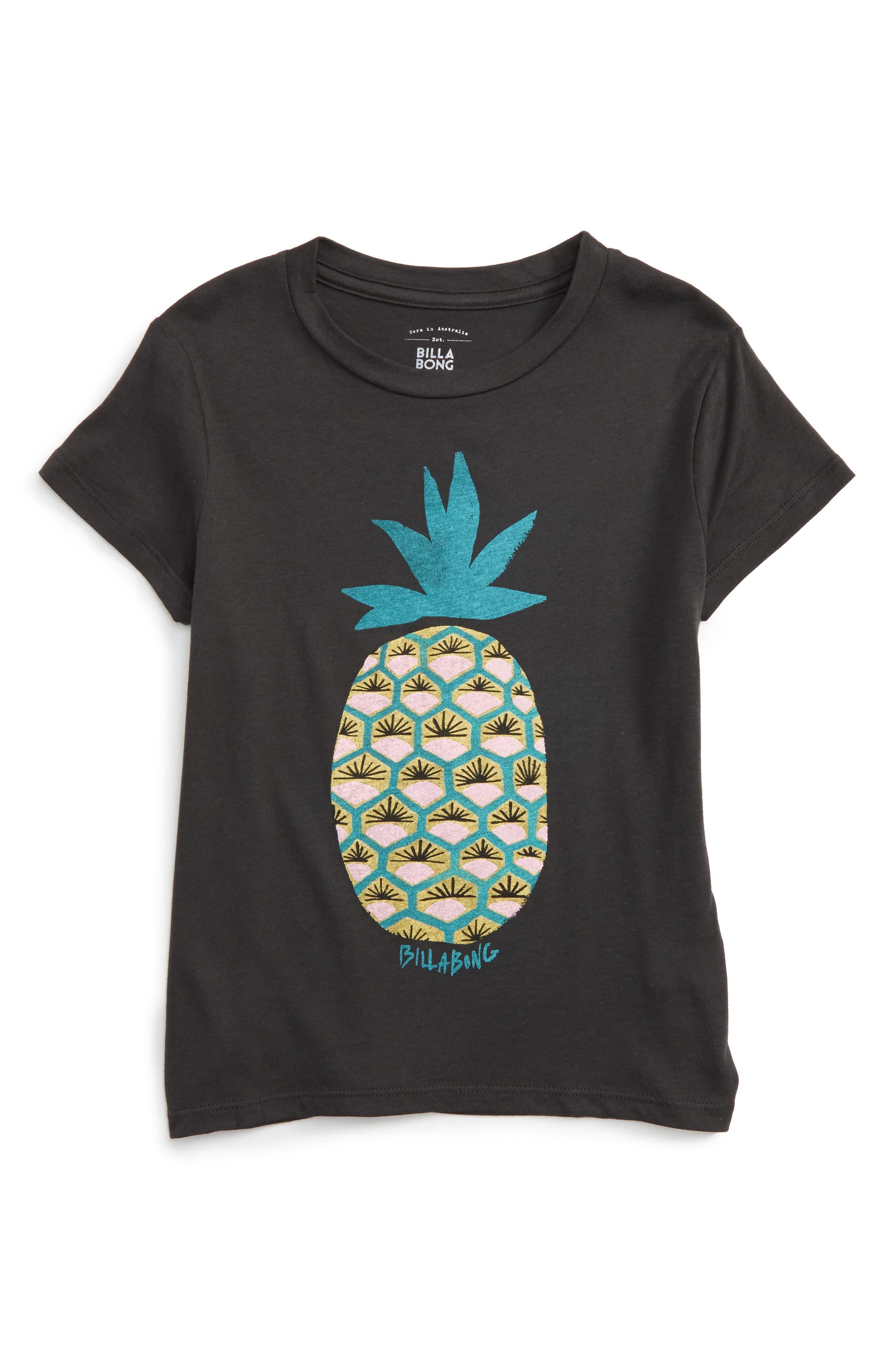 Billabong Fresh Pineapple Graphic Tee (Little Girls & Big Girls)