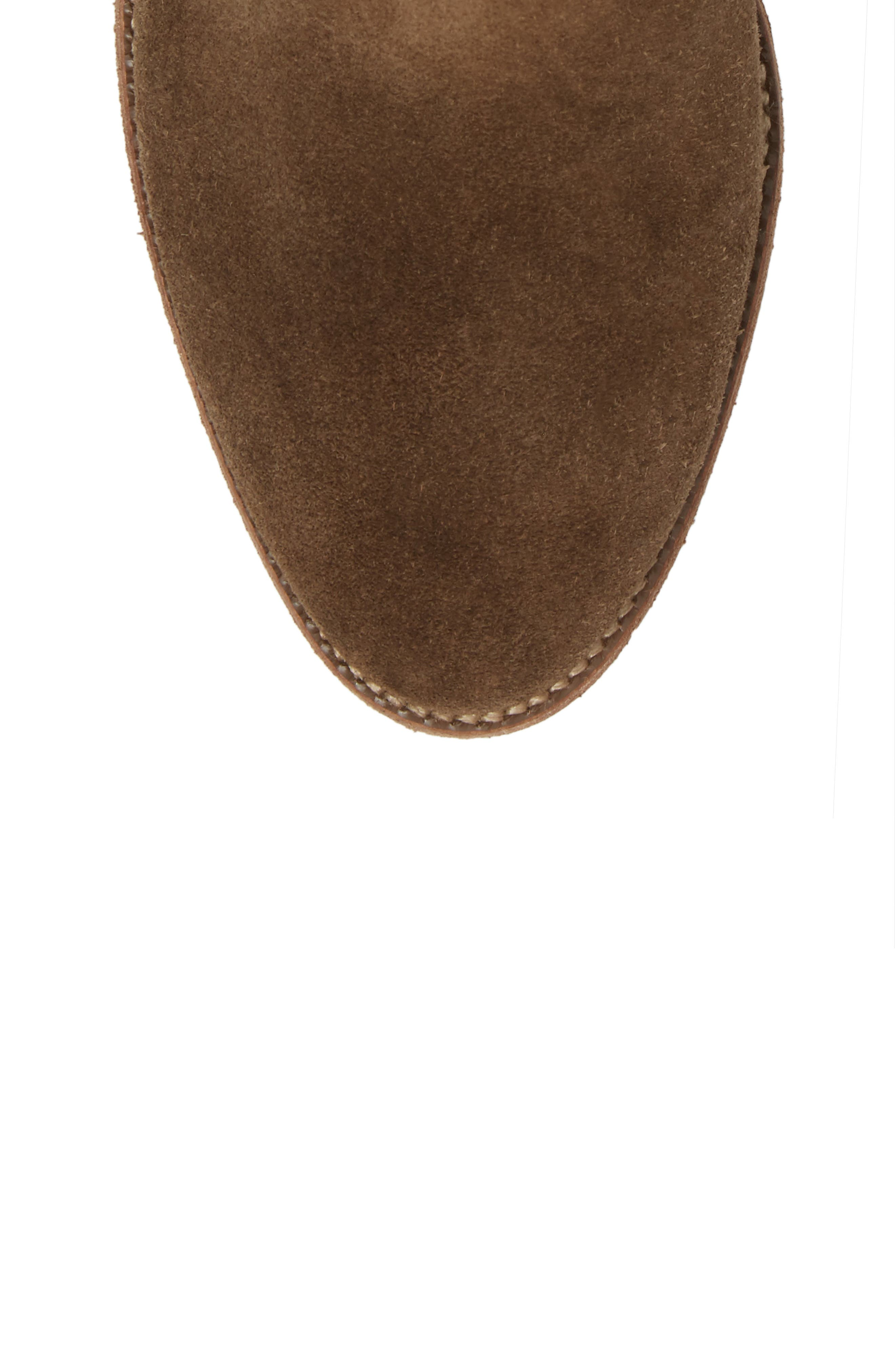 Brenner Bootie,                             Alternate thumbnail 5, color,                             Mink Suede