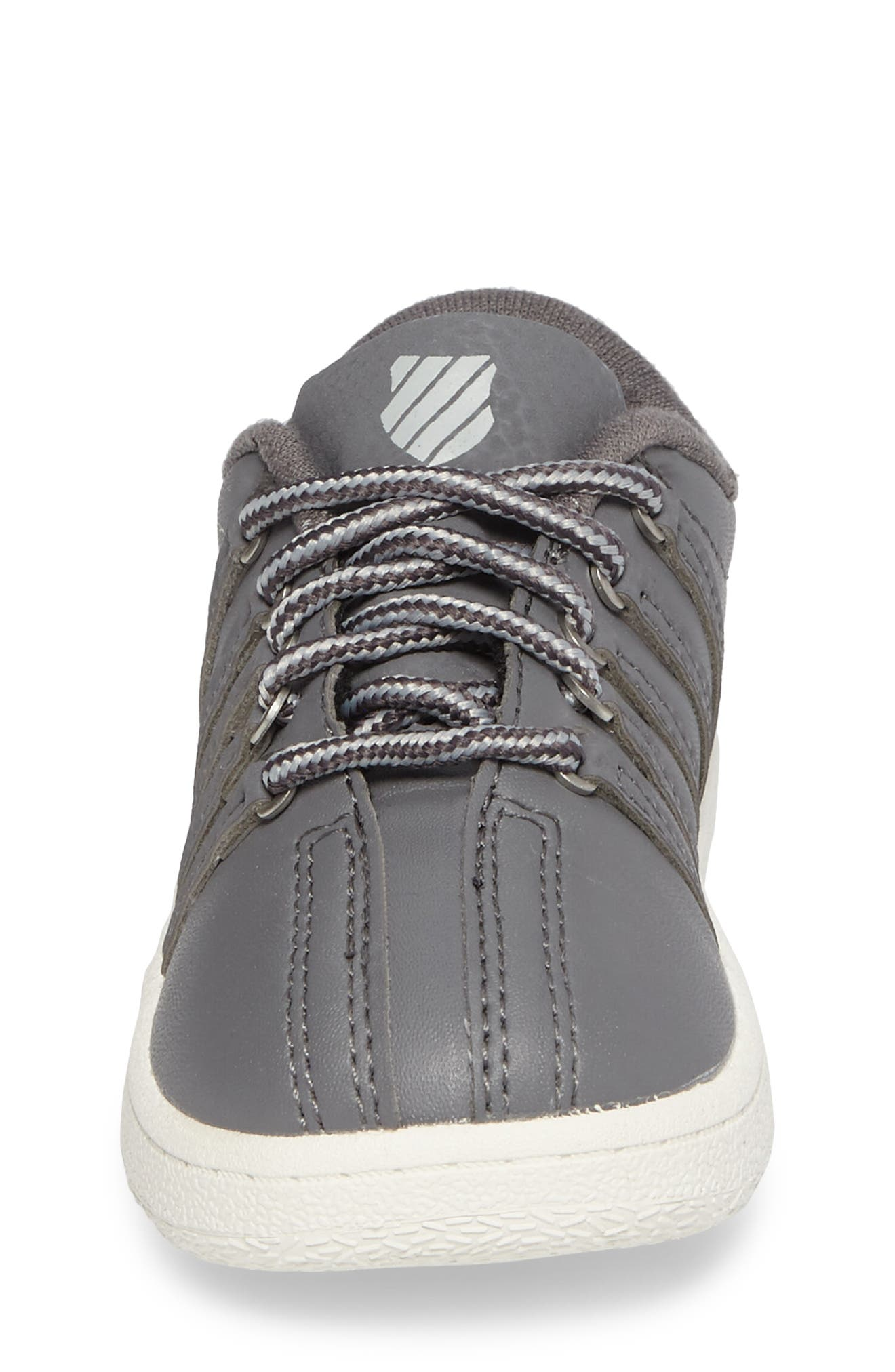Classic VN Sneaker,                             Alternate thumbnail 4, color,                             Charcoal/ Storm/ Lily White