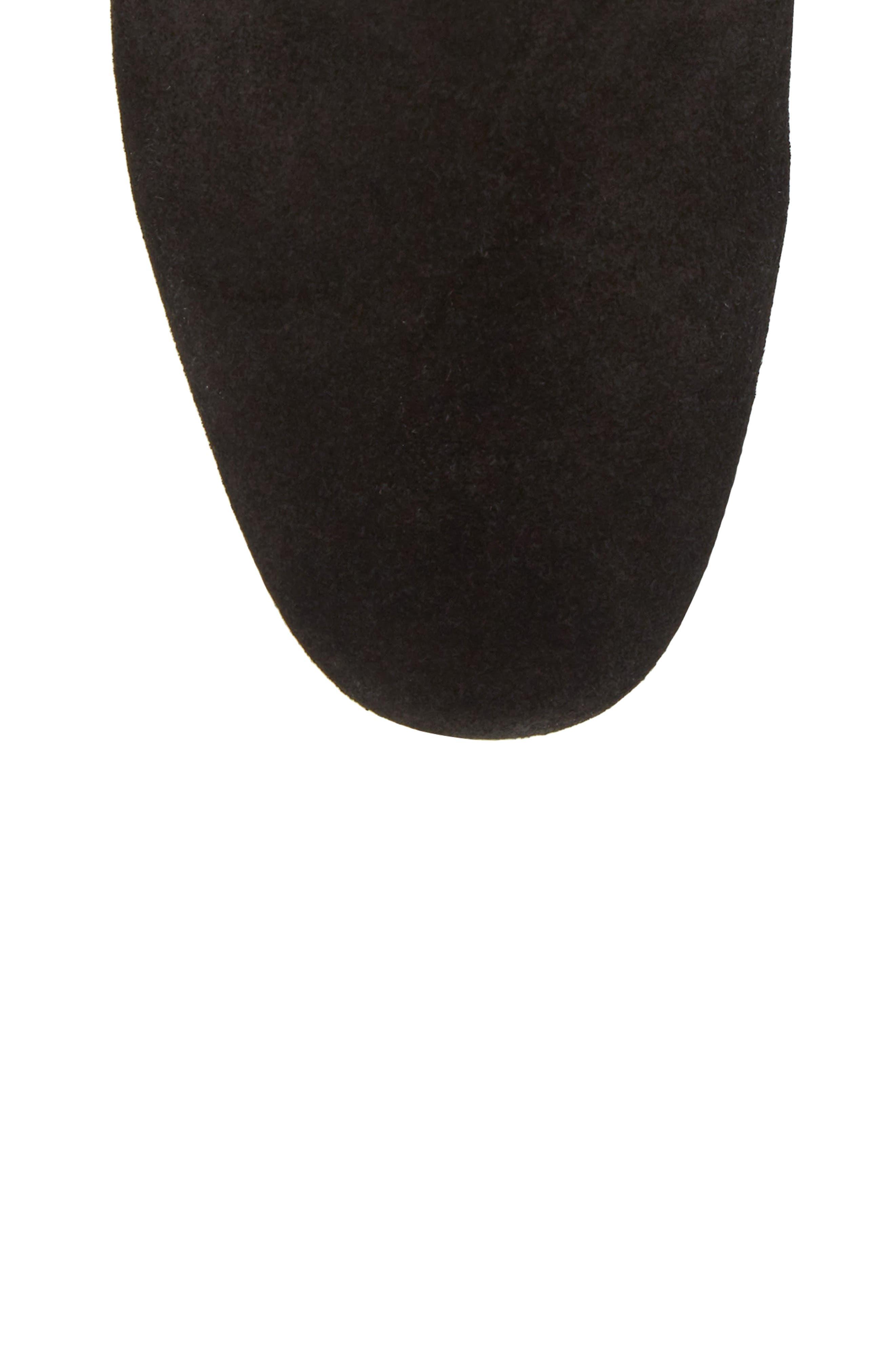Walker Chelsea Boot,                             Alternate thumbnail 5, color,                             True Black Suede