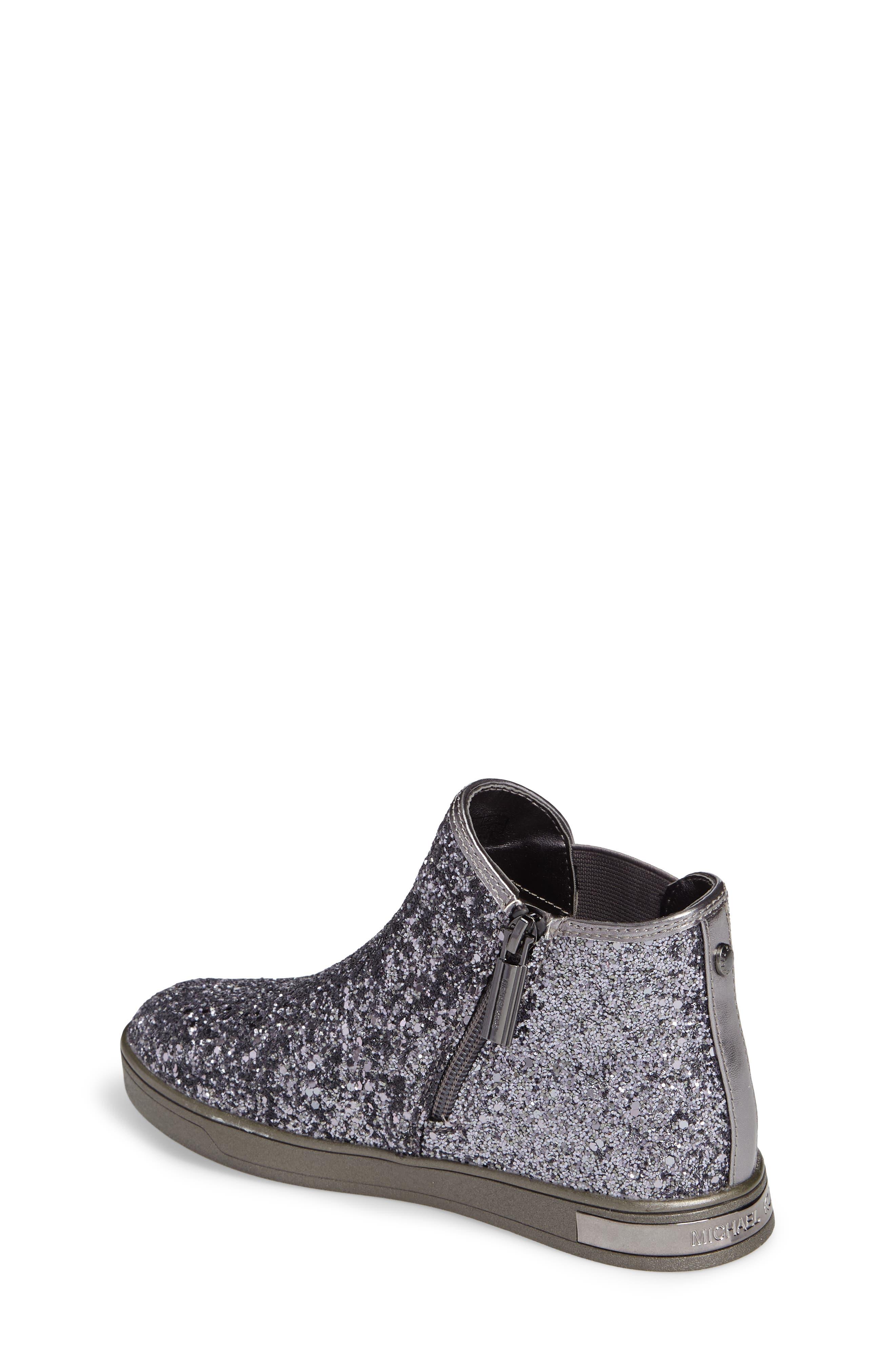 Alternate Image 2  - MICHAEL Michael Kors Ollie Rae Glittery Sneaker Boot (Walker, Toddler, Little Kid & Big Kid)