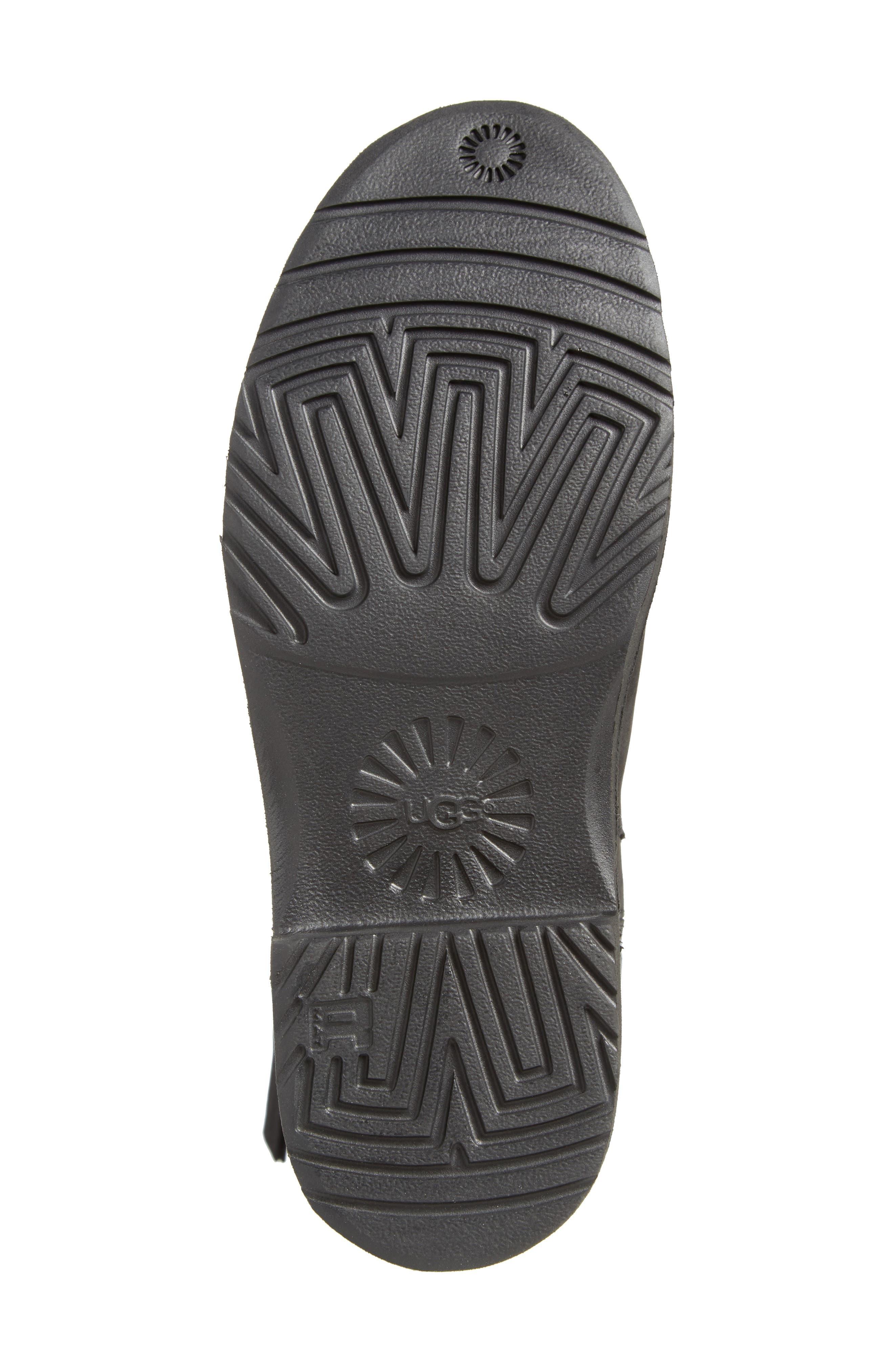 Elly Boot,                             Alternate thumbnail 6, color,                             Black Nubuck Leather