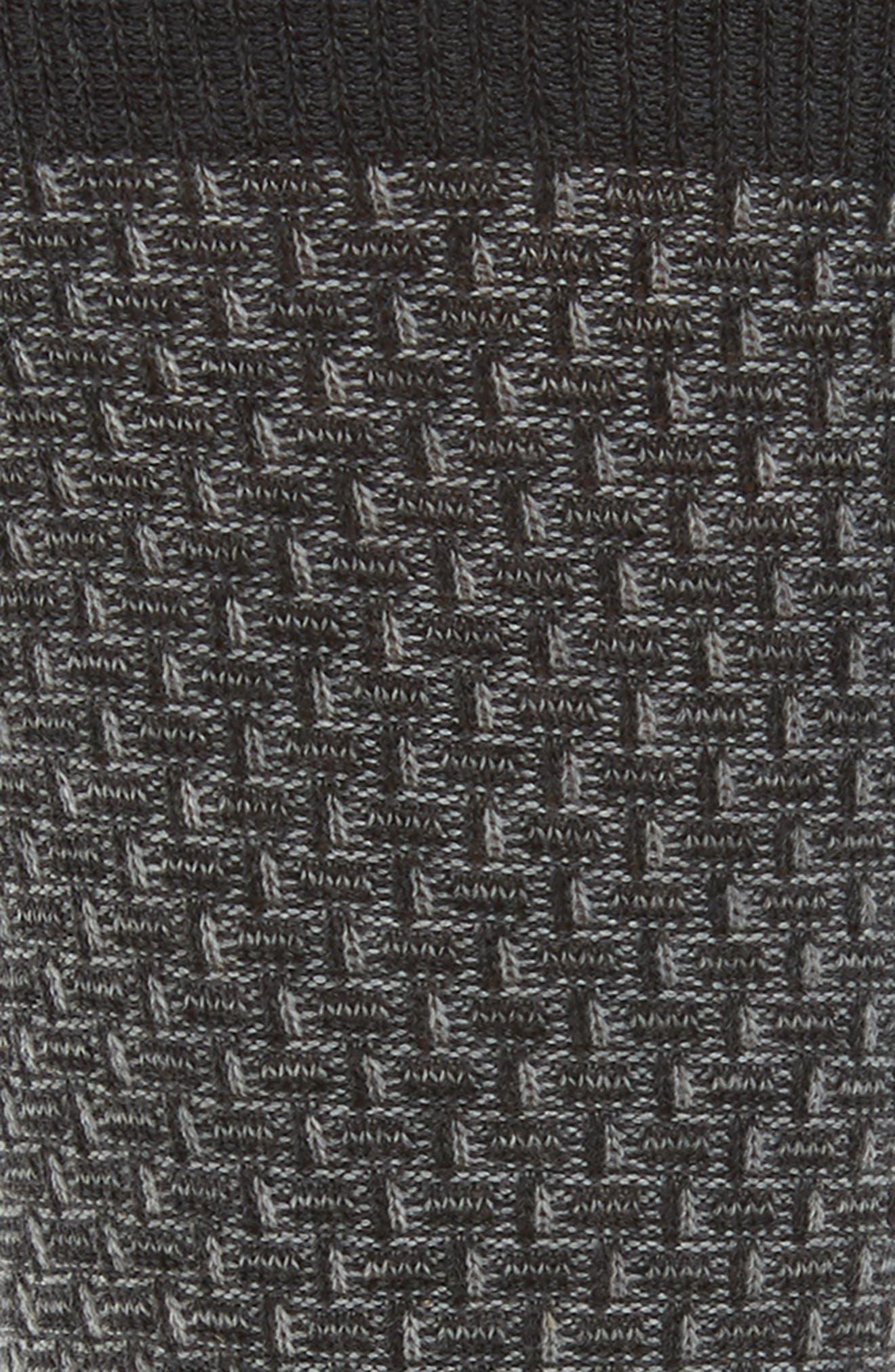 Alternate Image 2  - Cole Haan Dog Bone Texture Crew Socks (3 for $30)