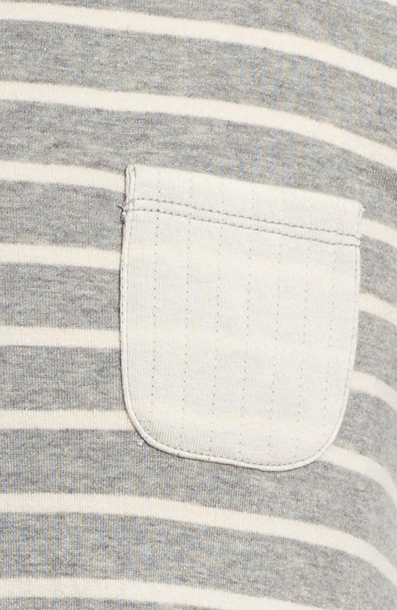 Alternate Image 3  - Tucker + Tate Stripe Hoodie Knit Dress (Toddler Girls, Little Girls & Big Girls)