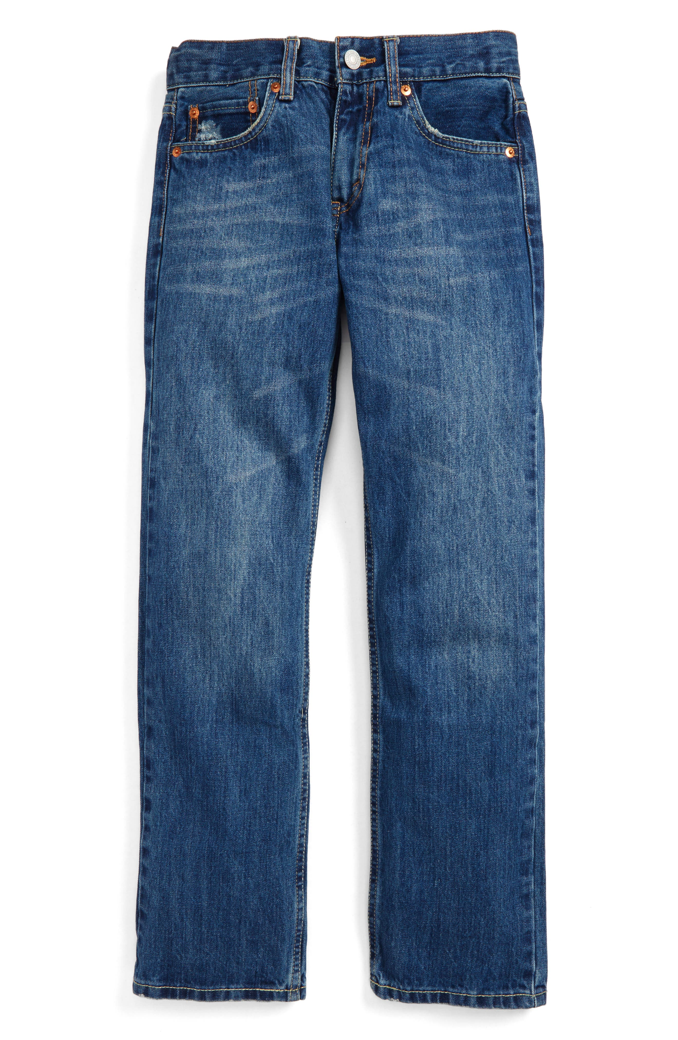 514<sup>™</sup> Straight Leg Jeans,                         Main,                         color, Carli Blue