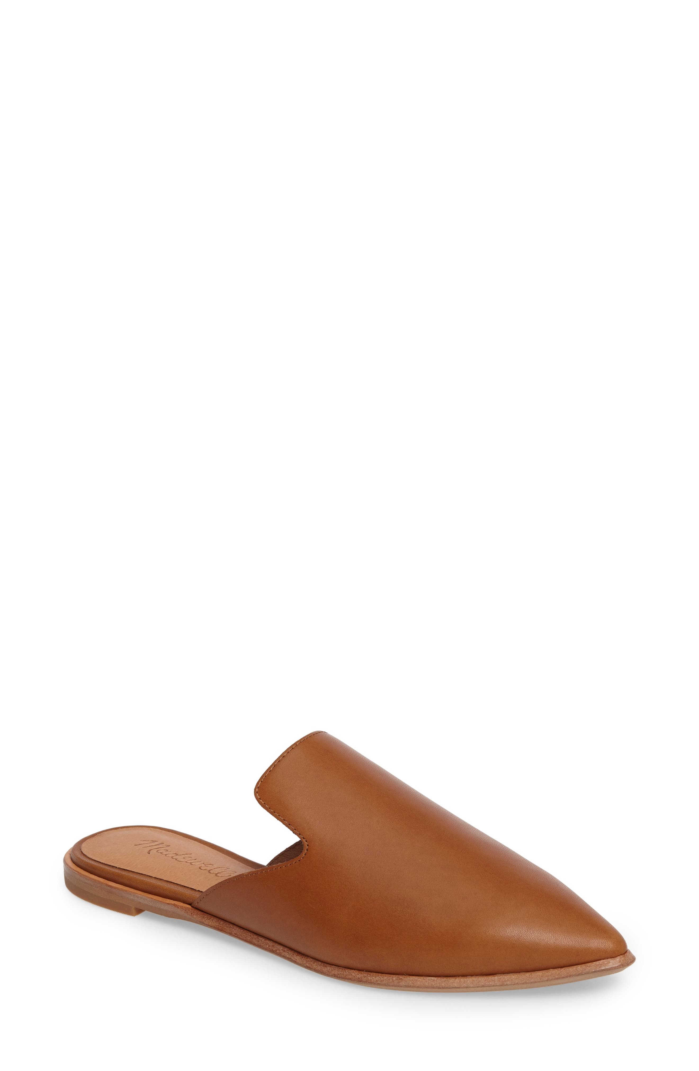 Alternate Image 1 Selected - Madewell The Gemma Pointy Toe Mule (Women)