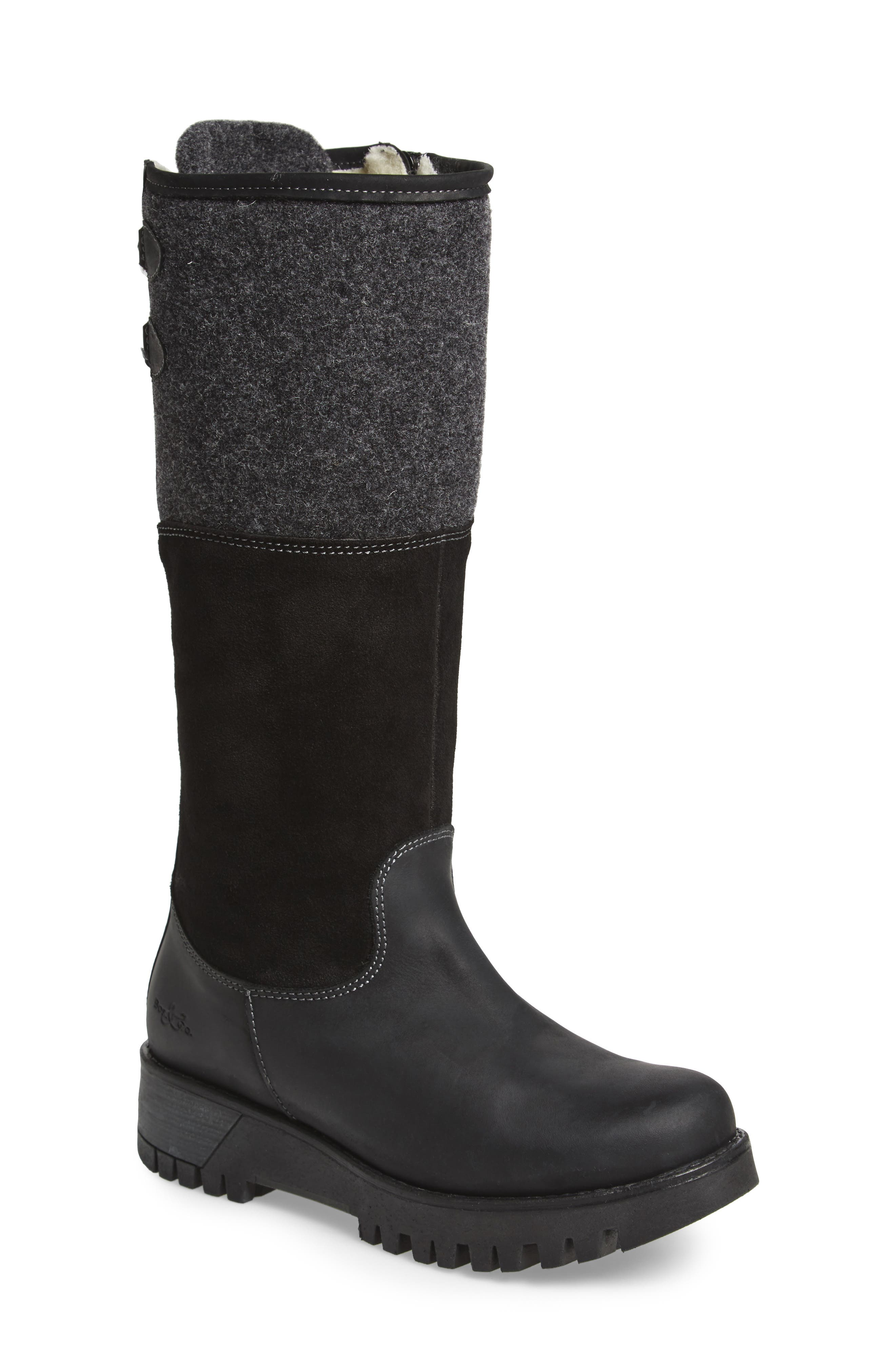 Alternate Image 1 Selected - Bos. & Co. 'Ginger' Waterproof Mid Calf Platform Boot (Women)