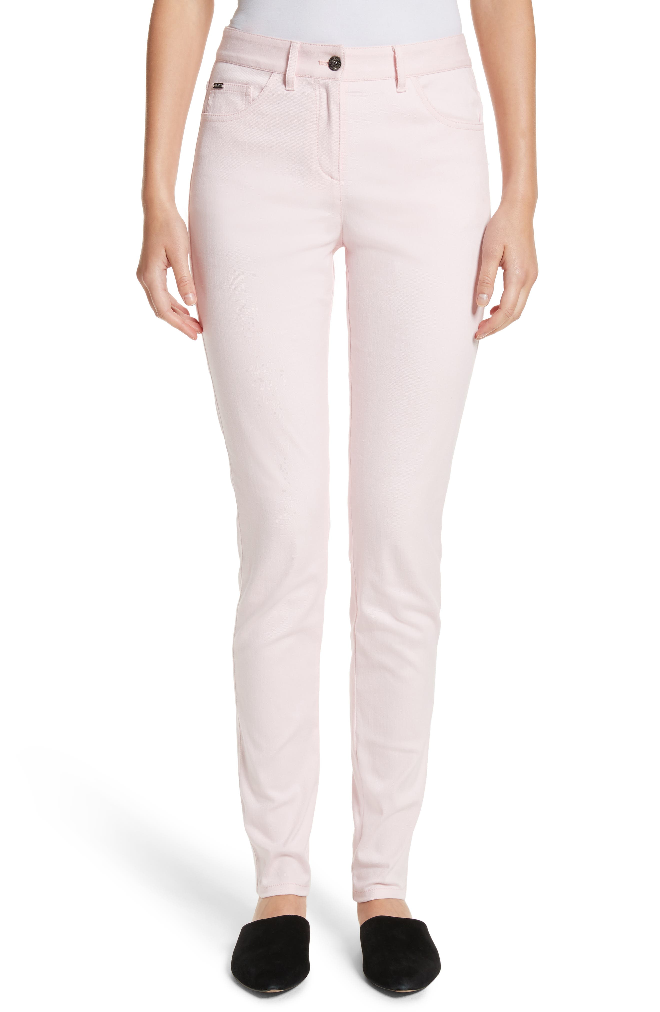 Alternate Image 1 Selected - St. John Collection Bardot Double Dye Stretch Jeans
