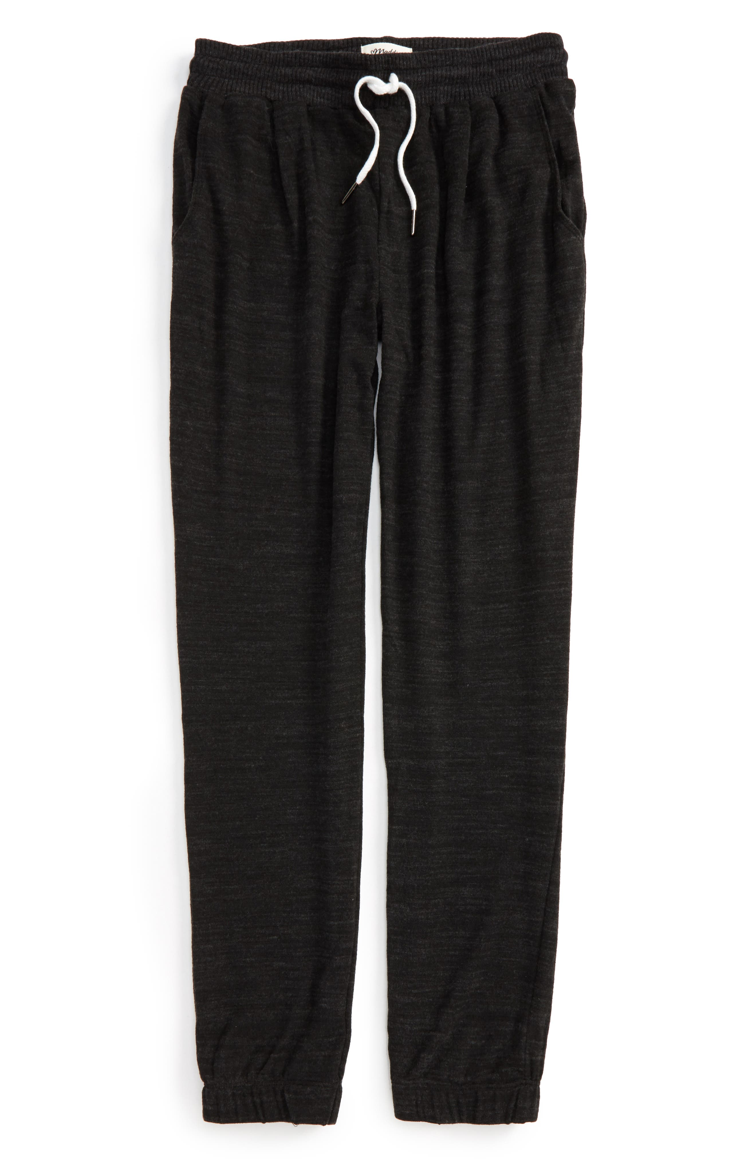 Knit Jogger Pants,                         Main,                         color, Grey