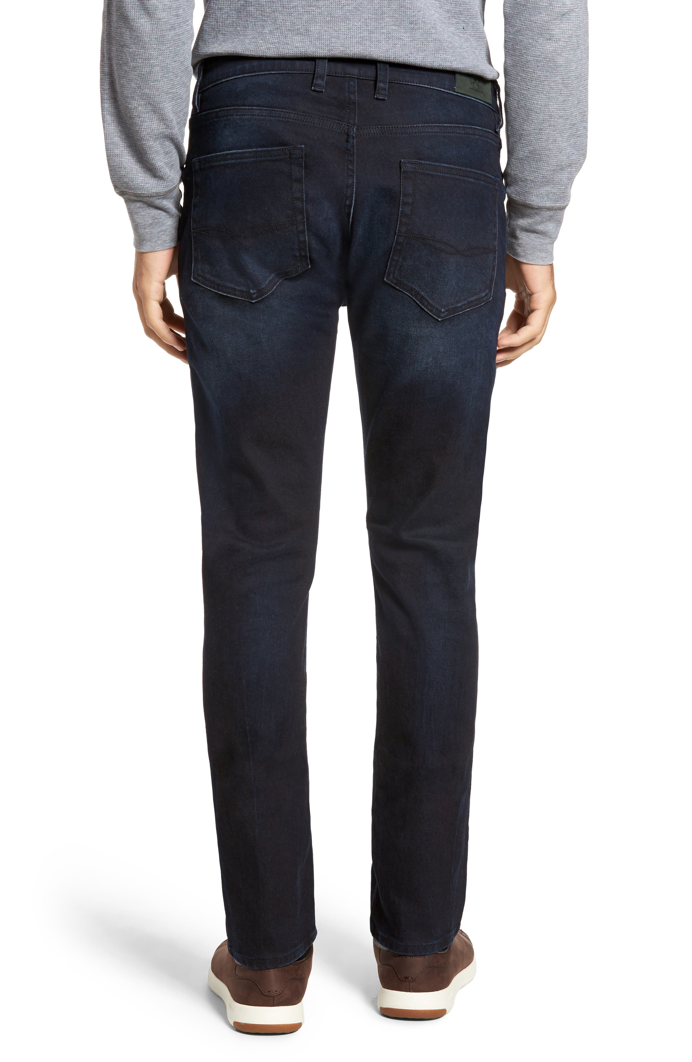 Mapleton Slim Fit Jeans,                             Alternate thumbnail 2, color,                             Denim