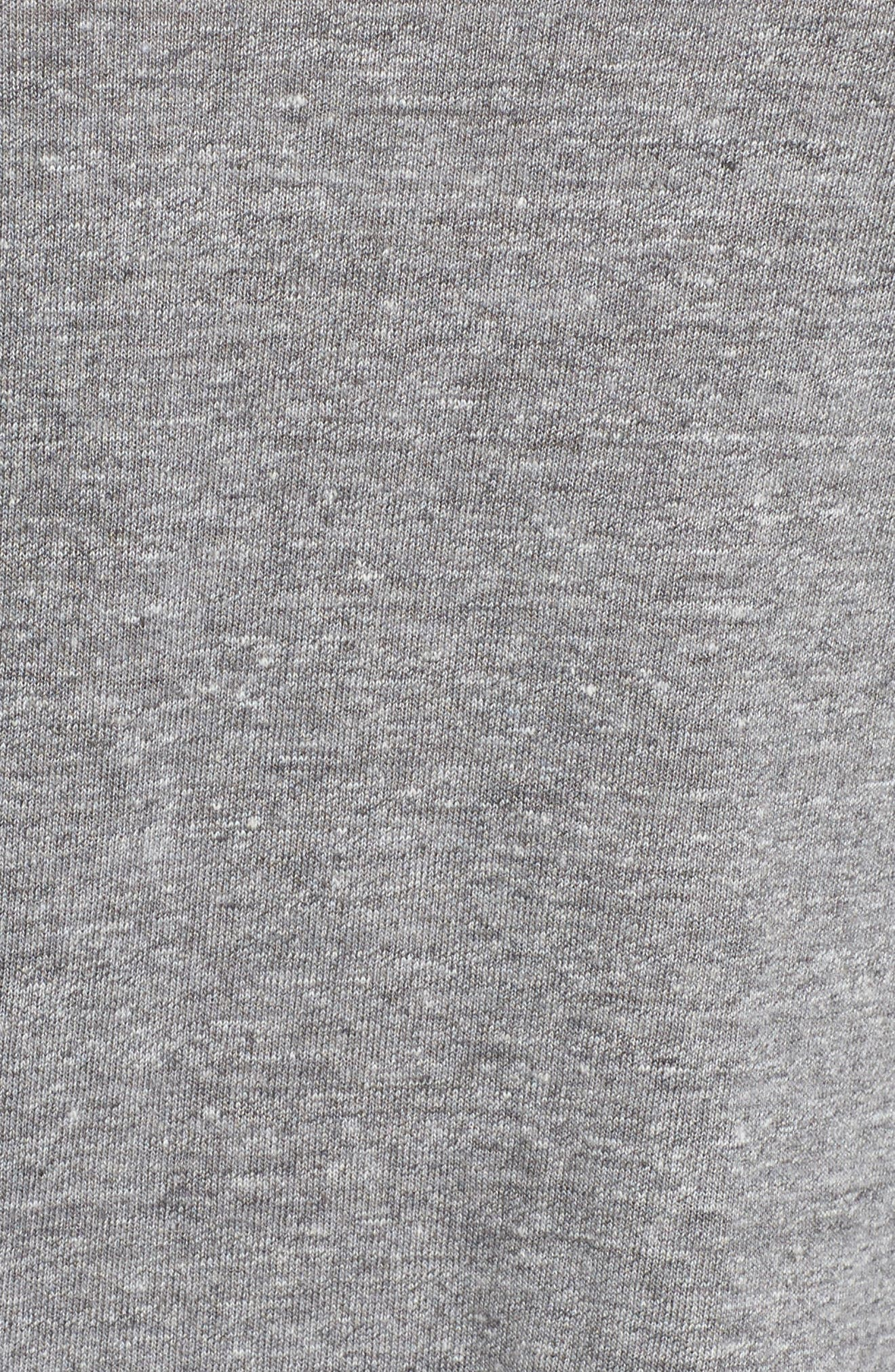 Jersey Tee,                             Alternate thumbnail 6, color,                             Streaky Grey