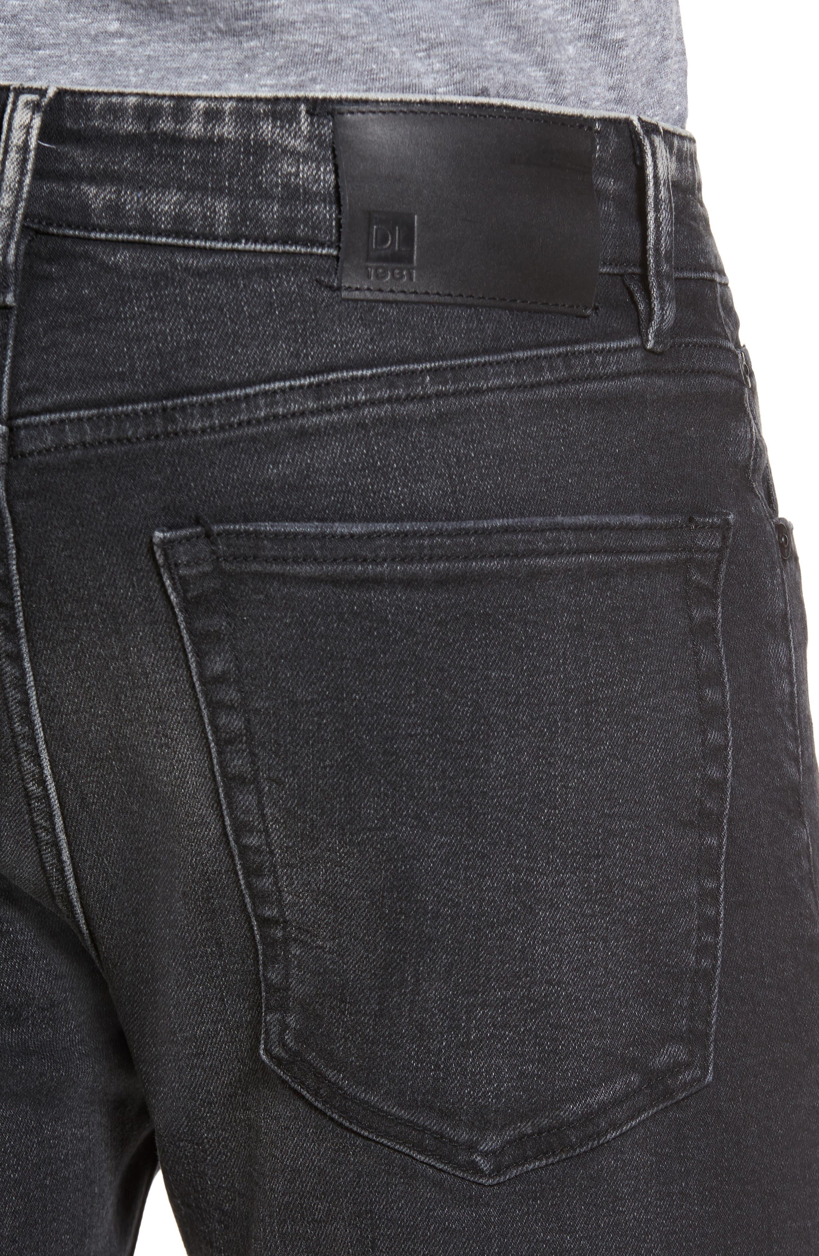 Alternate Image 4  - DL1961 Hunter Skinny Jeans (Argon)