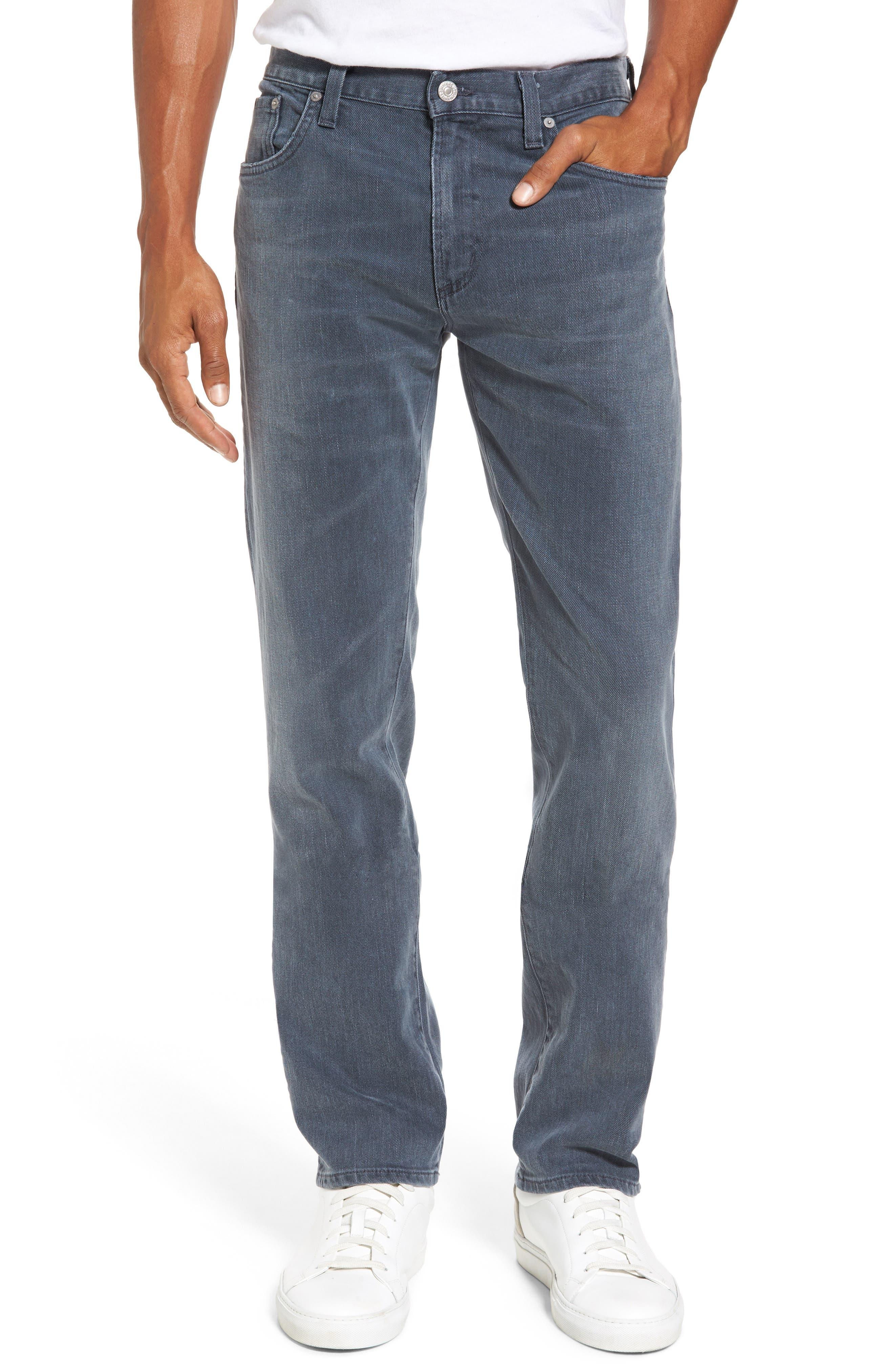 Core Slim Fit Jeans,                         Main,                         color, Grey Skies