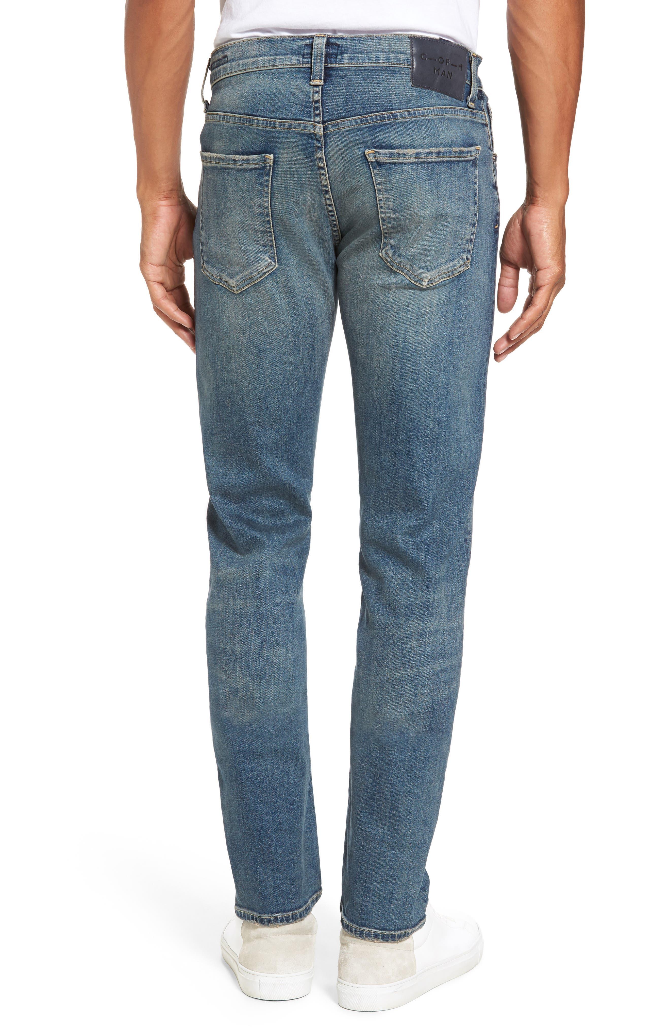 Core Slim Fit Jeans,                             Alternate thumbnail 2, color,                             Millais