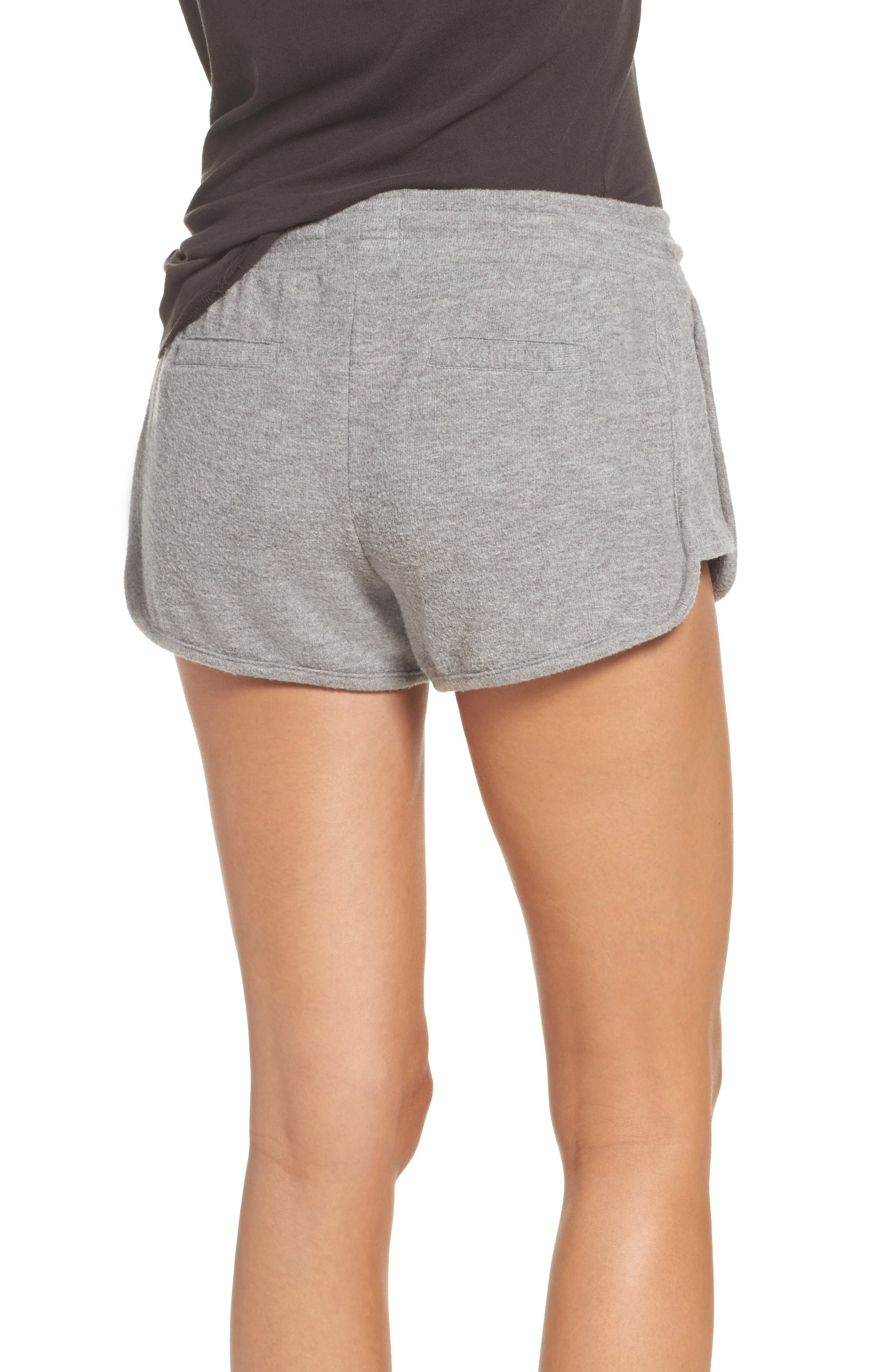 Love Shorts,                             Alternate thumbnail 2, color,                             Heather Grey
