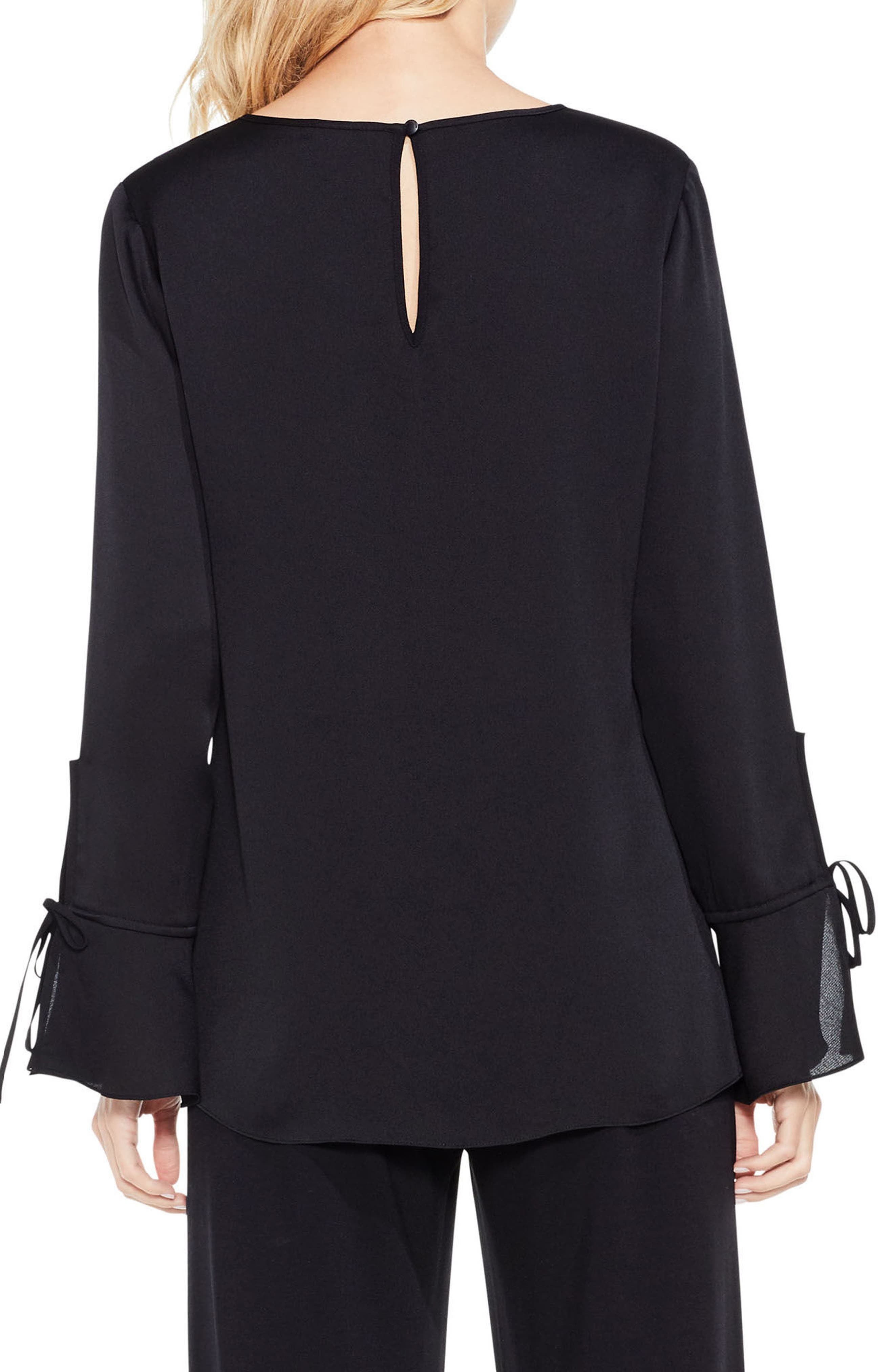 Alternate Image 2  - Vince Camuto Bell Sleeve Colorblock Top