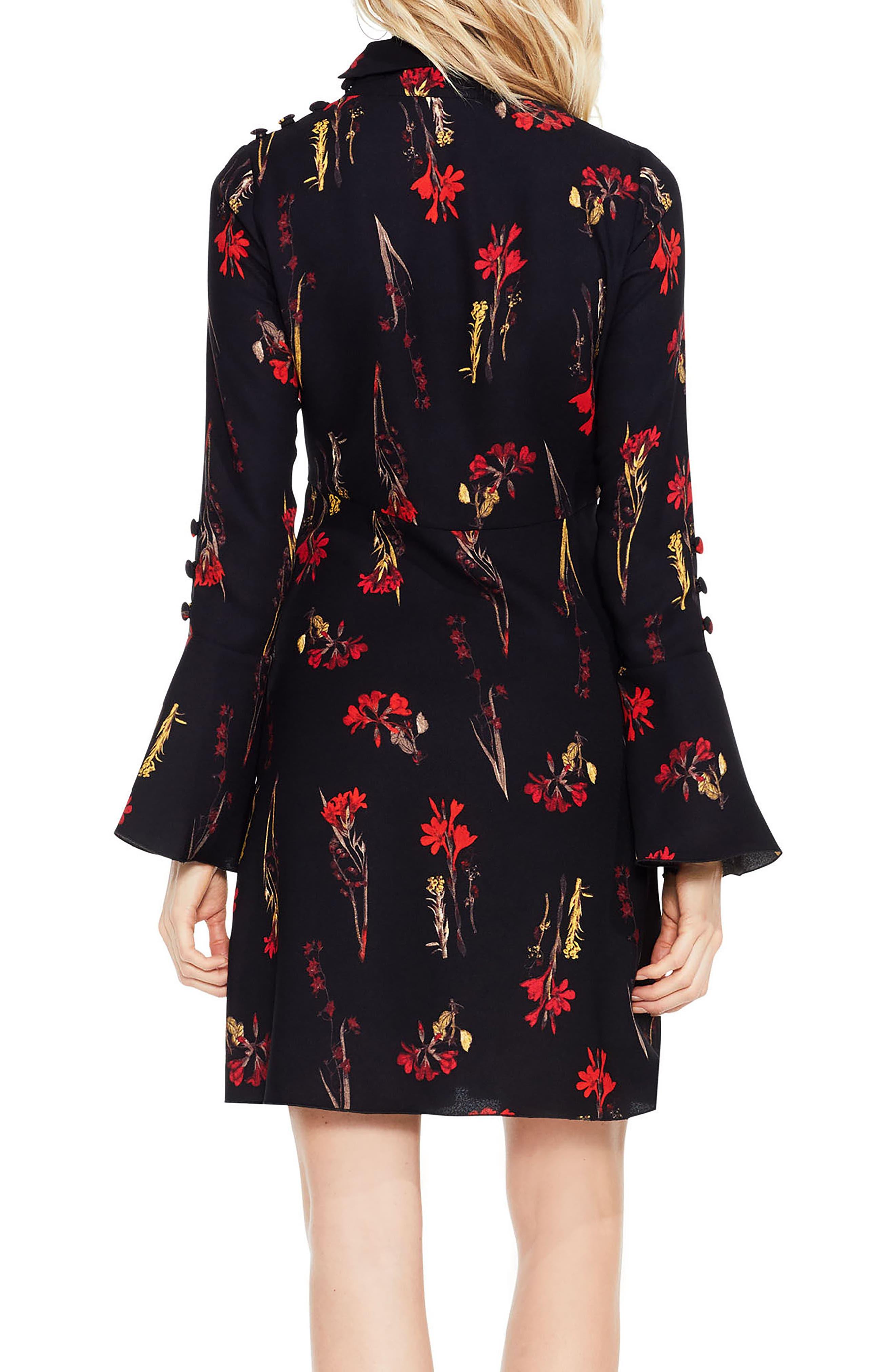 Alternate Image 3  - Vince Camuto Botanical Flared Sleeve Dress