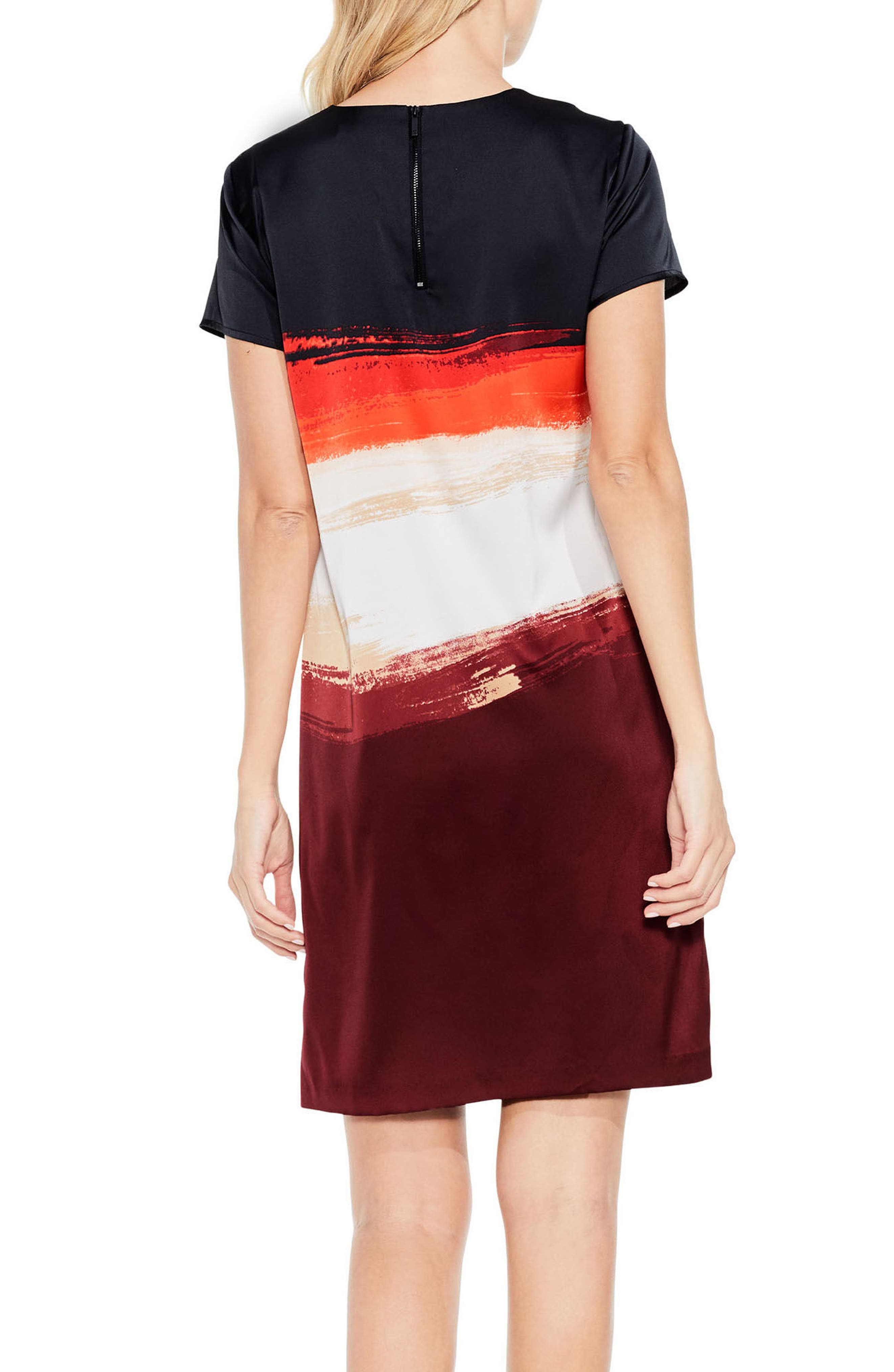 Alternate Image 3  - Vince Camuto Brushstroke Horizons Dress (Regular & Petite)