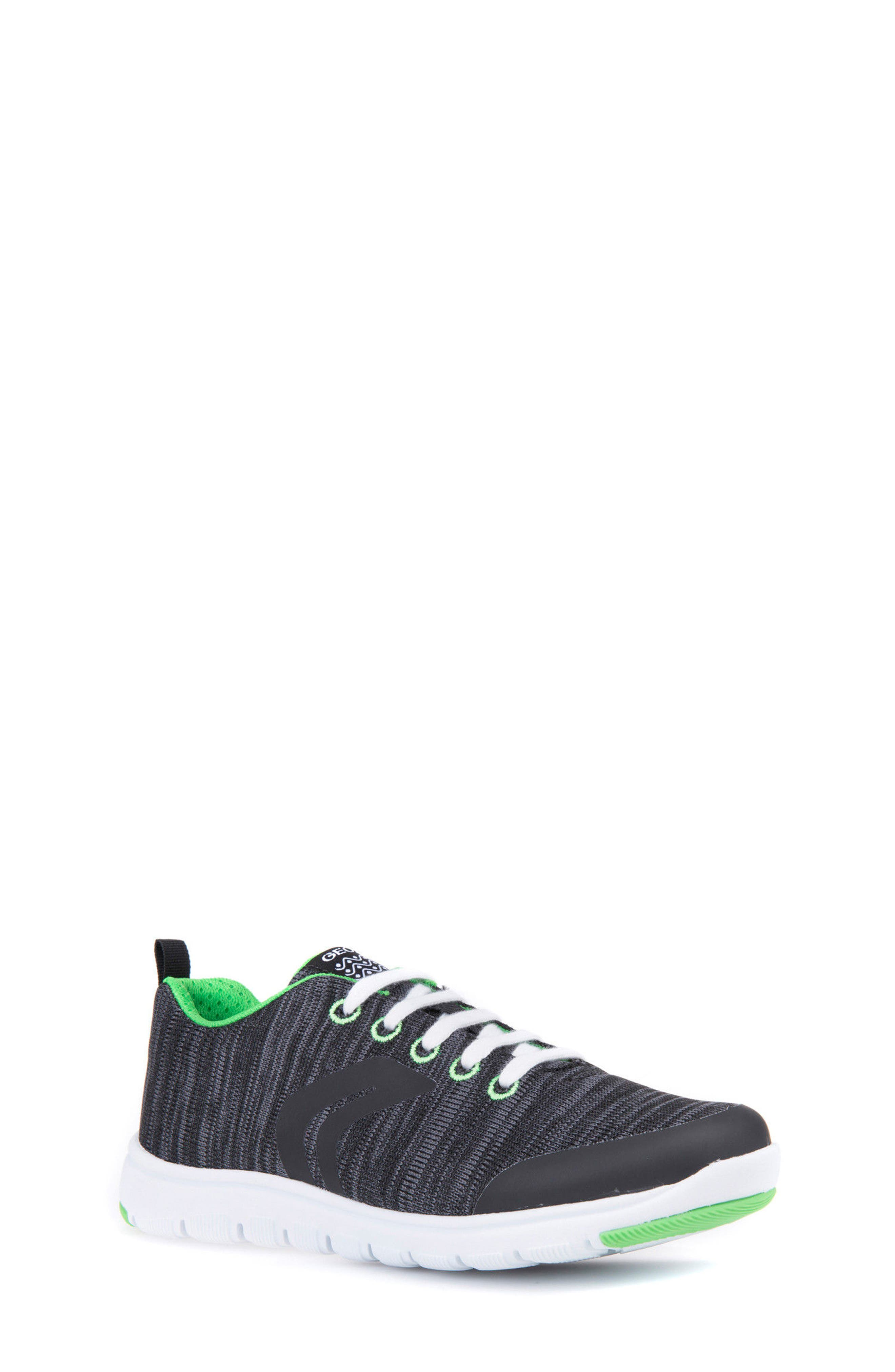 Geox Xunday Performance Knit Low Top Sneaker (Toddler, Little Kid & Big Kid)