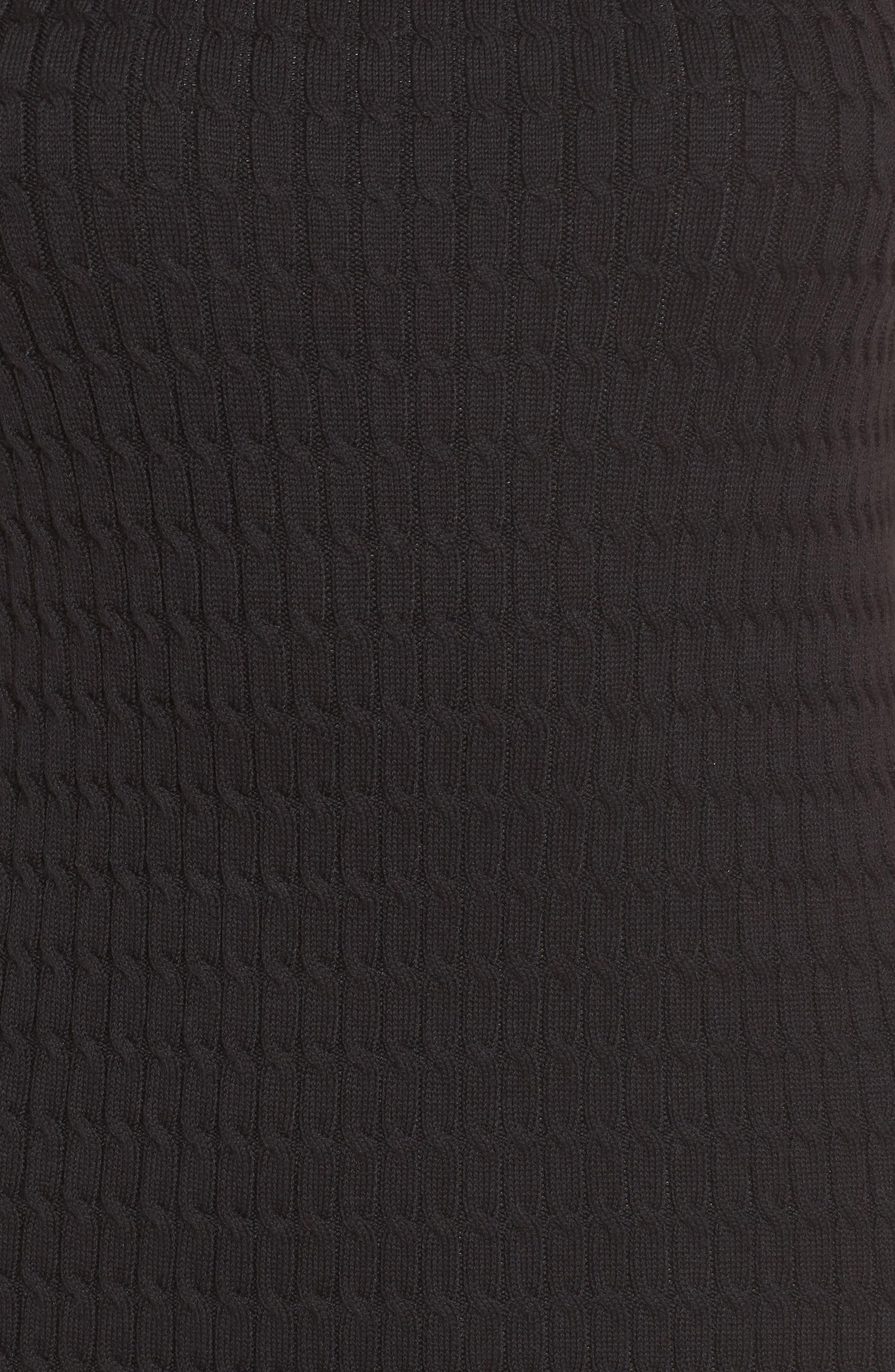 Alternate Image 5  - Tommy Bahama Sleeveless Turtleneck Dress