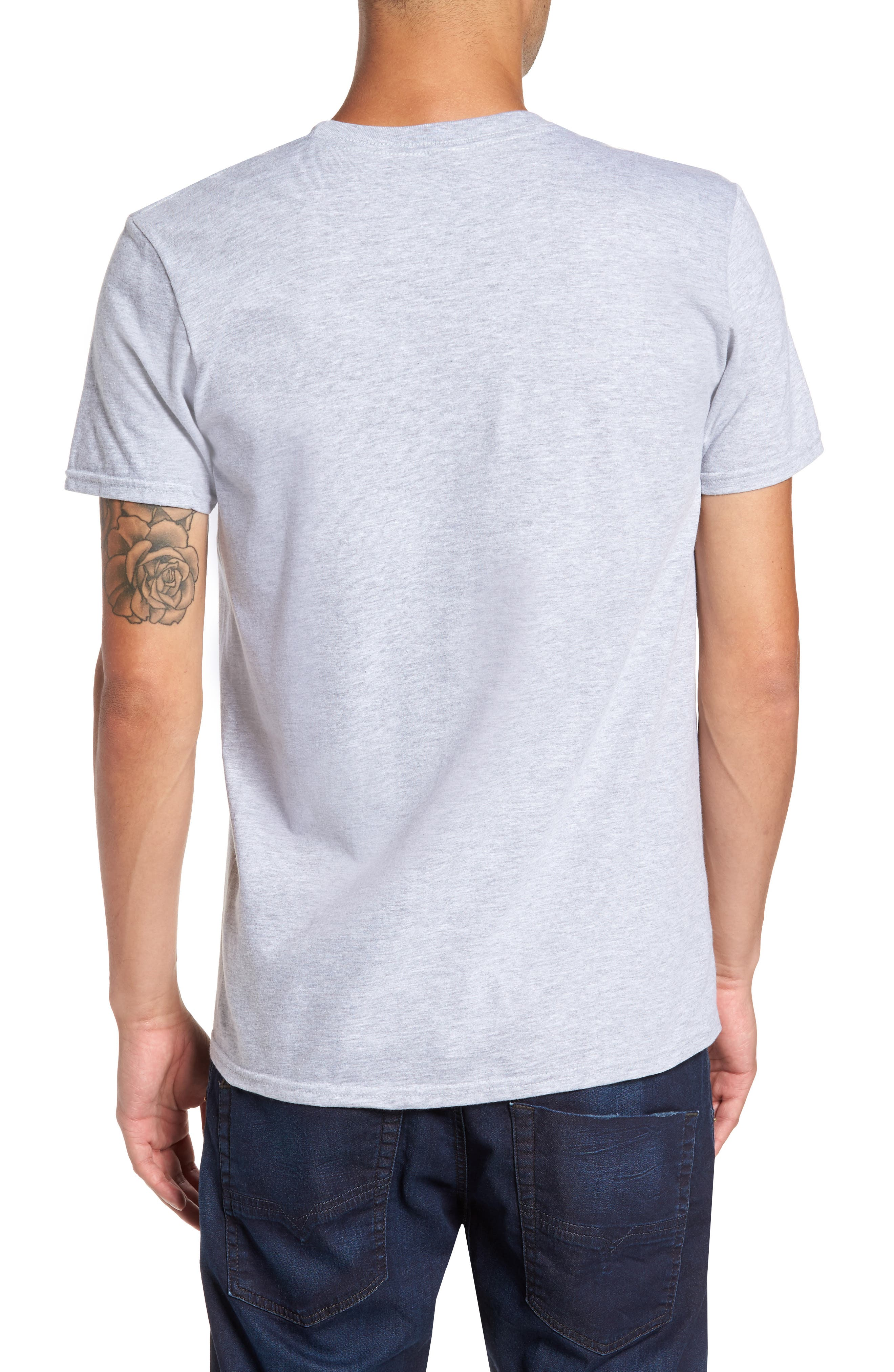Budweiser<sup>®</sup> T-Shirt,                             Alternate thumbnail 2, color,                             Grey Bud Surfboards