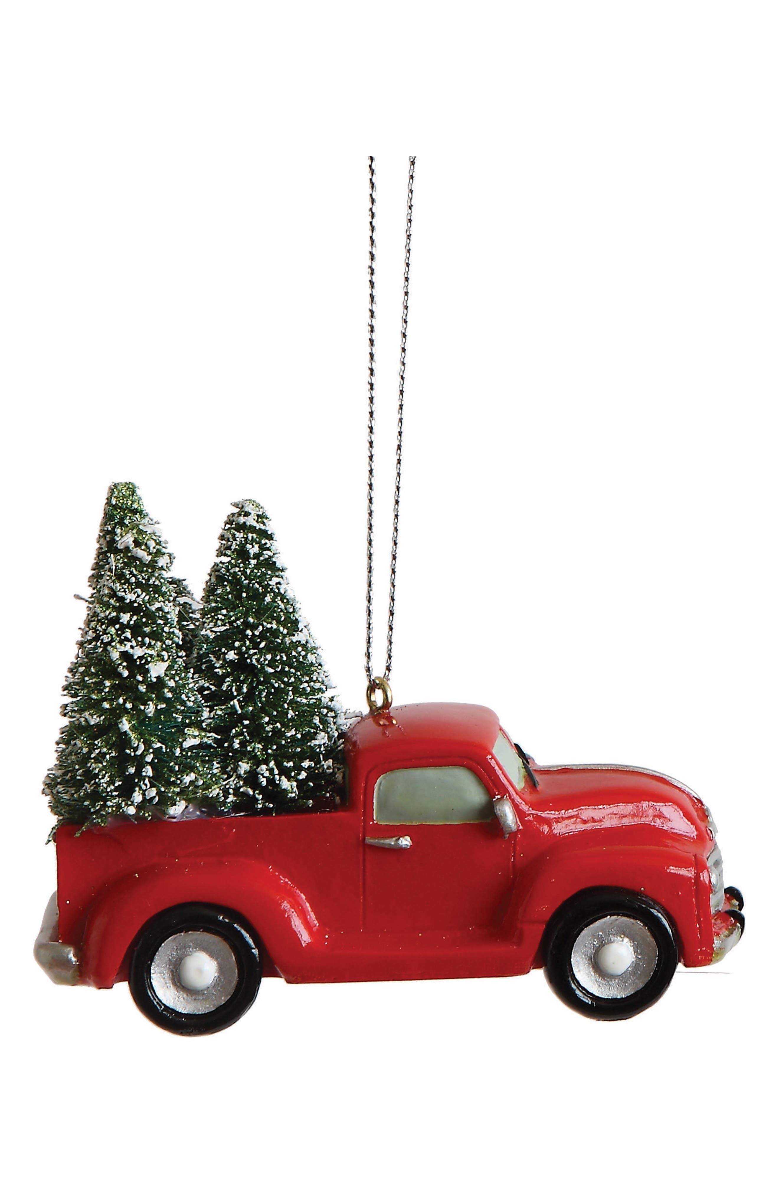 Creative Co-Op Truck Ornament
