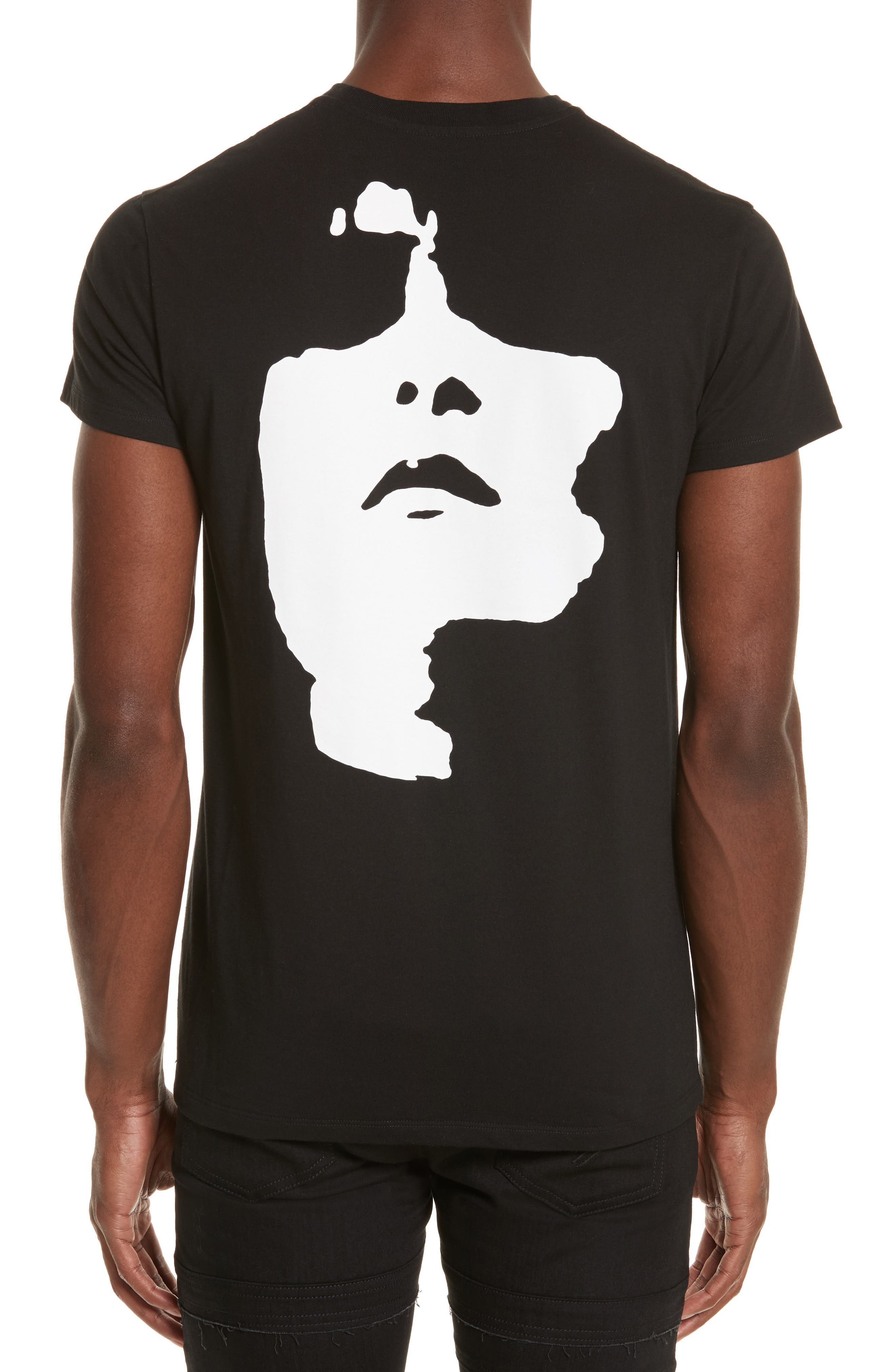 Alternate Image 2  - Neil Barrett Siouxsie Face Graphic T-Shirt