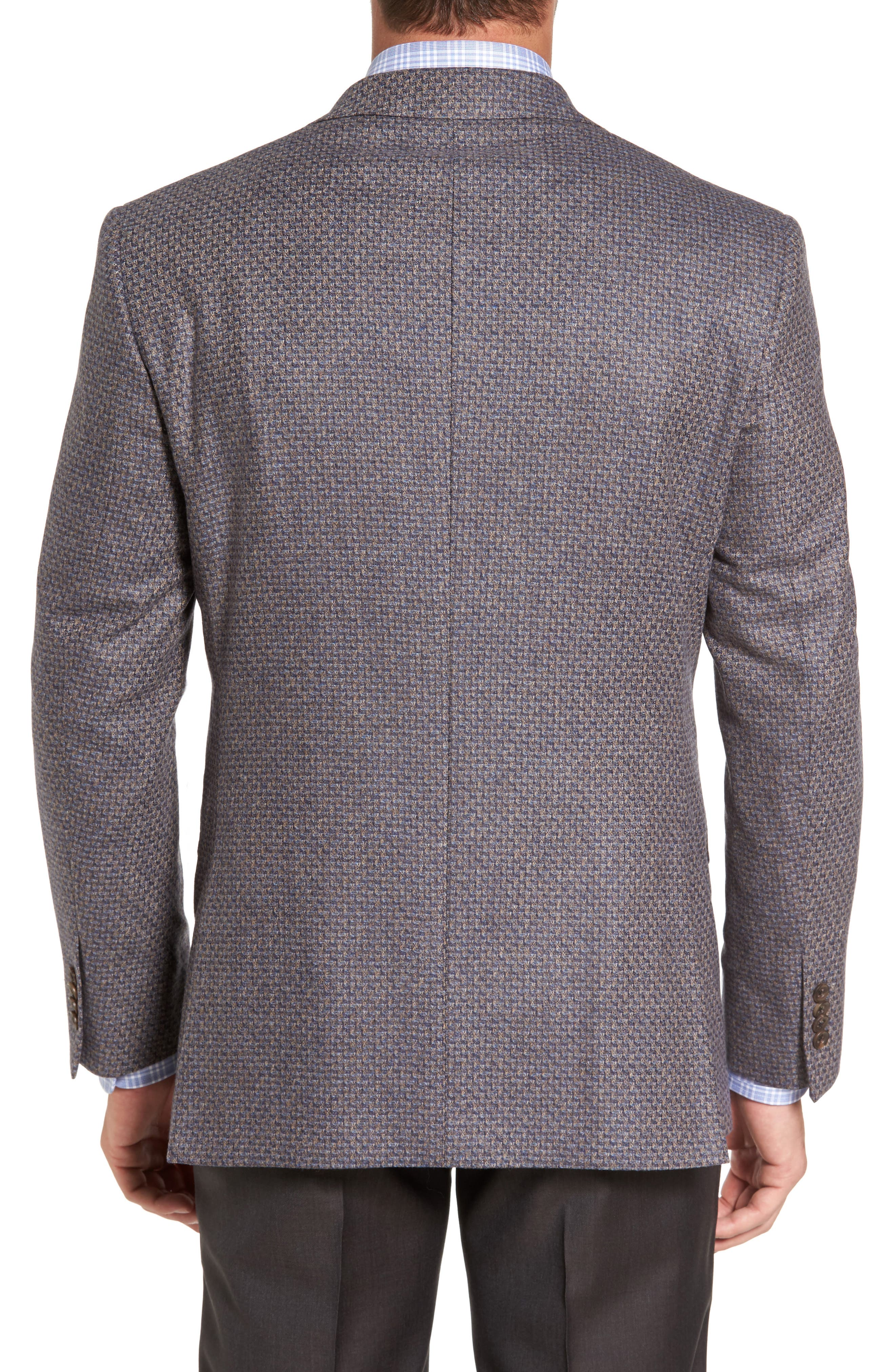 Alternate Image 2  - David Donahue Connor Classic Fit Wool Sport Coat