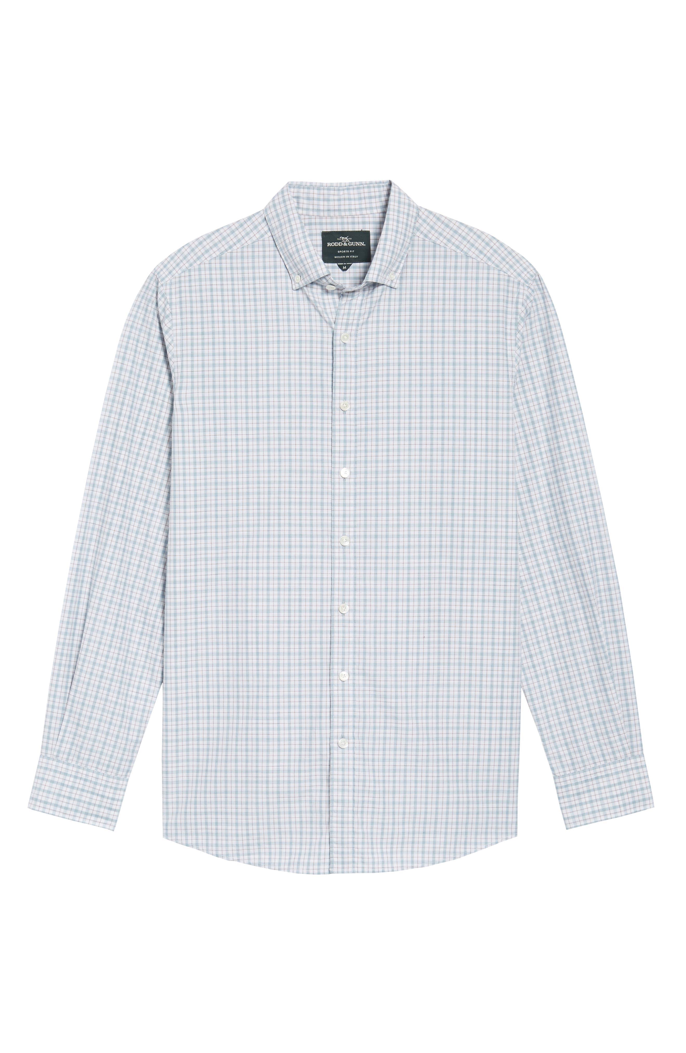 Alternate Image 6  - Rodd & Gunn Carterton Sports Fit Plaid Sport Shirt