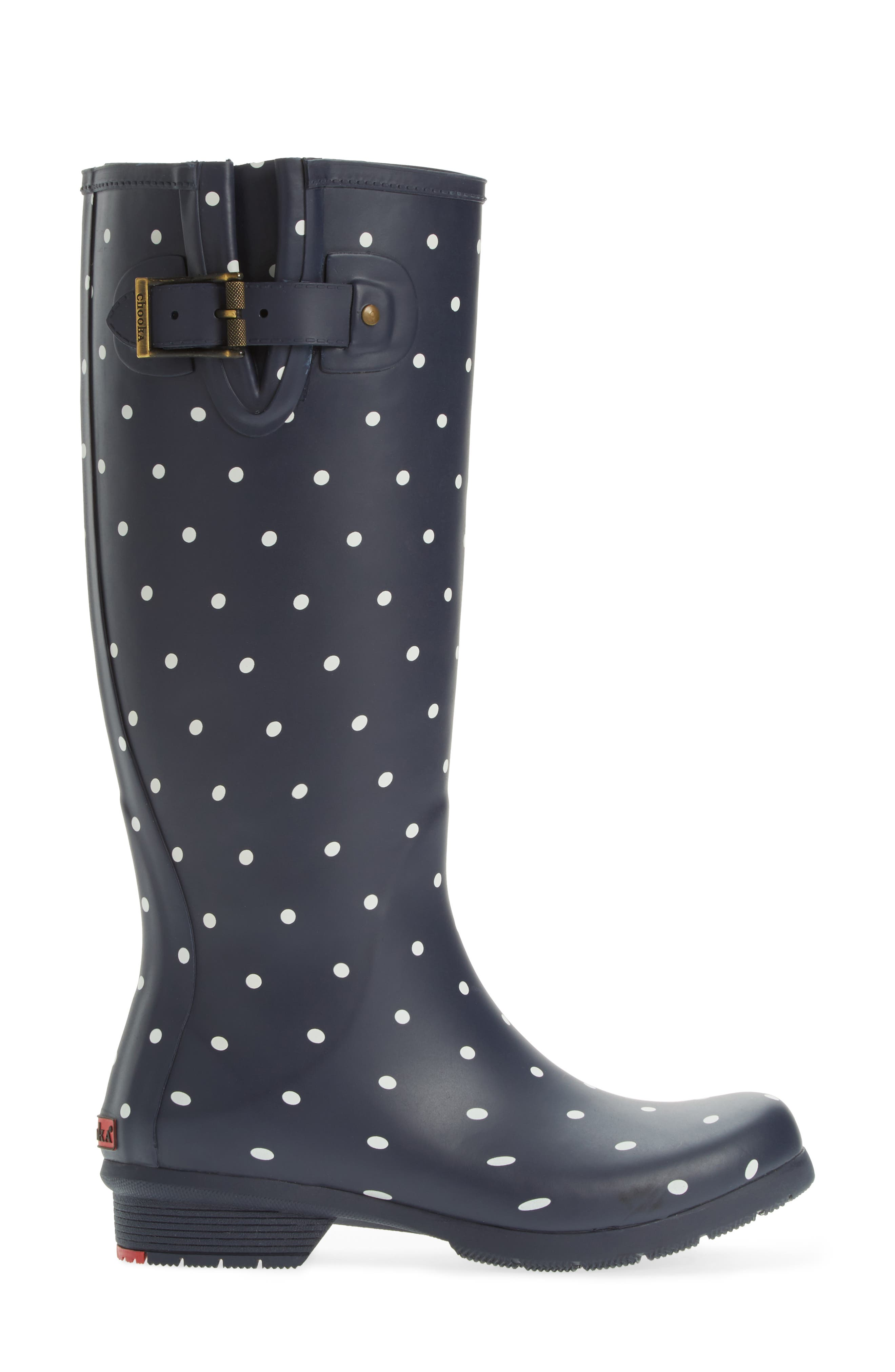 Alternate Image 3  - Chooka Classic Dot Rain Boot (Women)