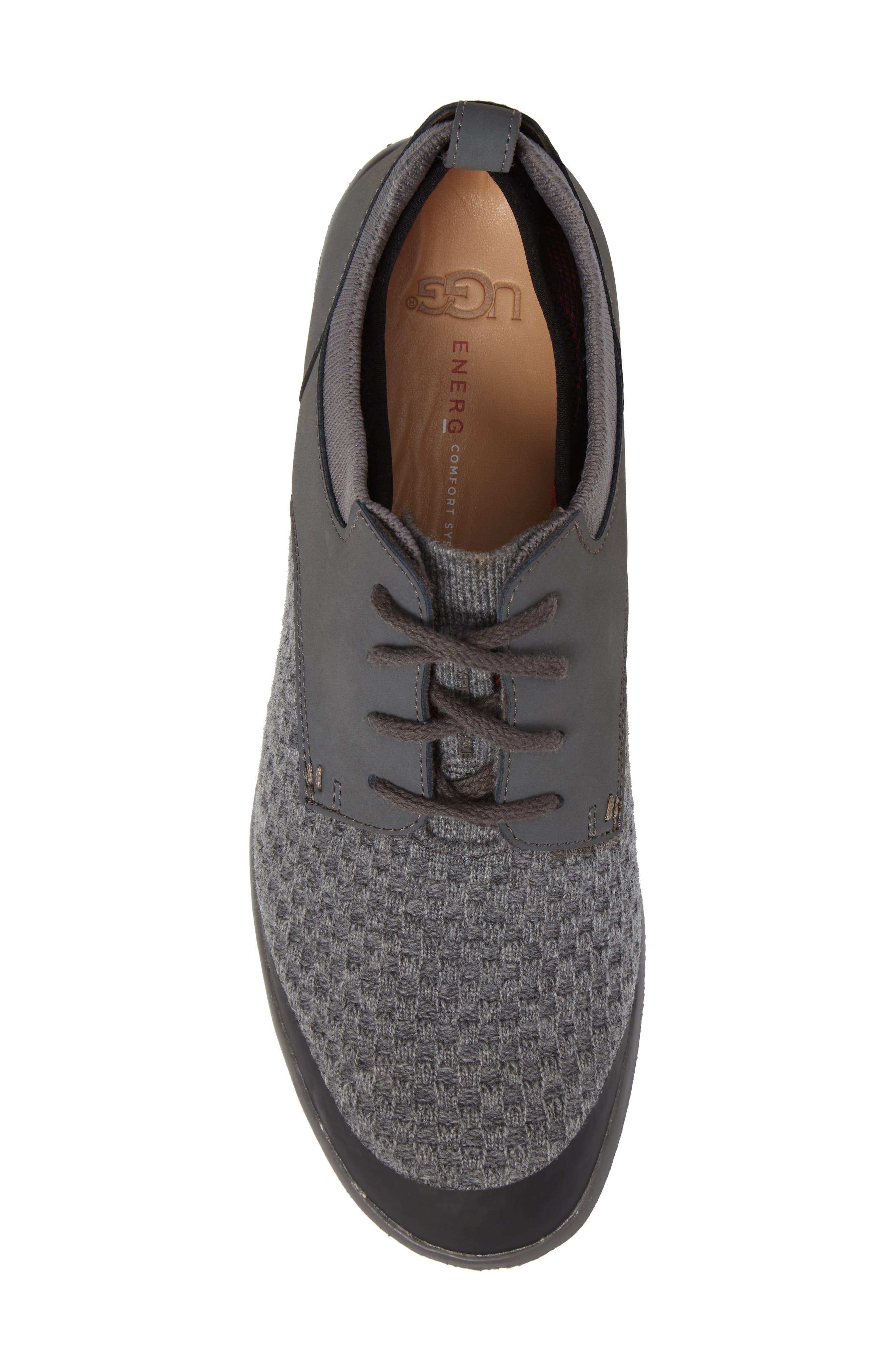 Hepner HyperWeave Sneaker,                             Alternate thumbnail 5, color,                             Dark Charcoal