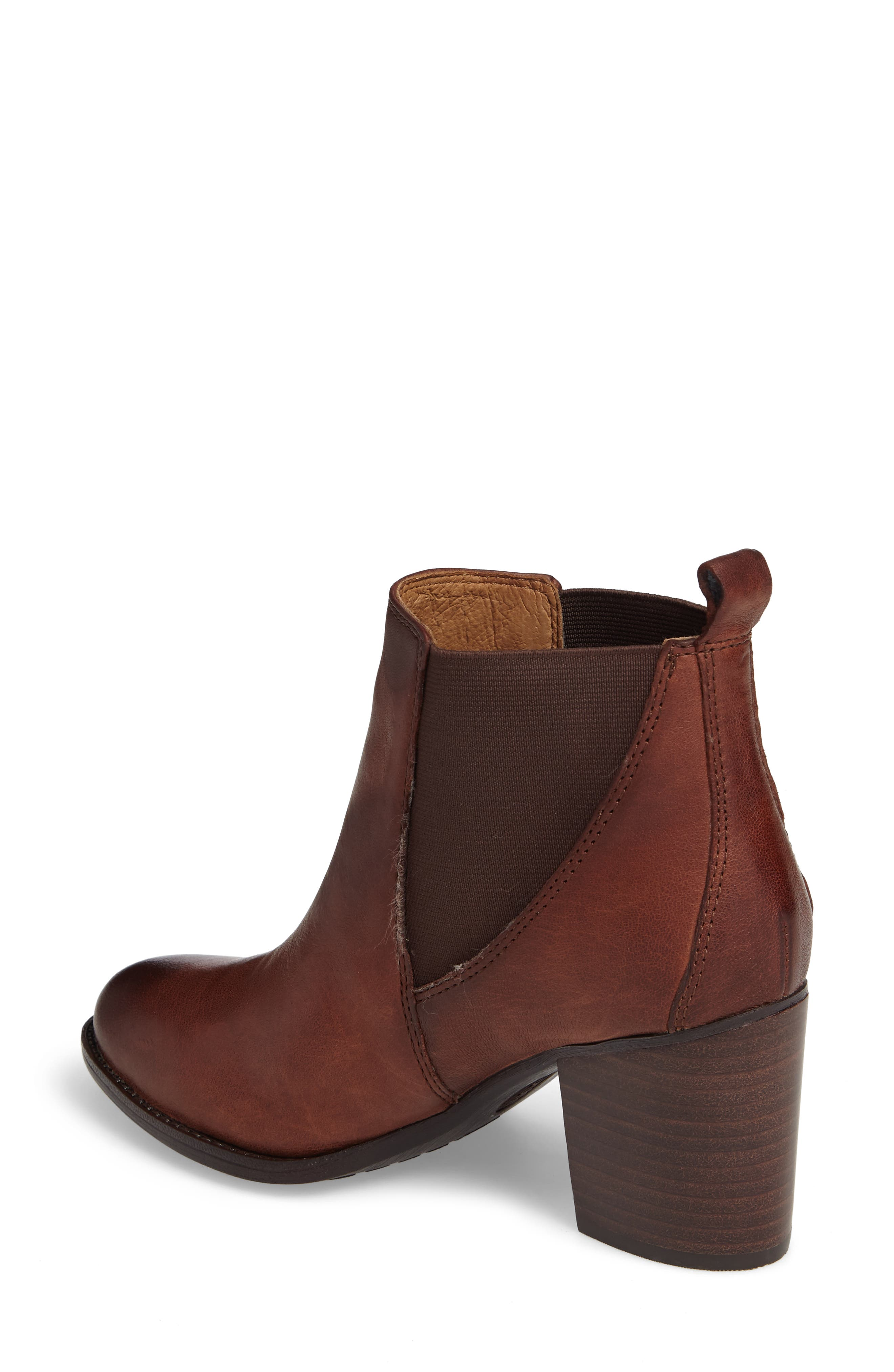 Welling Bootie,                             Alternate thumbnail 2, color,                             Caffe Leather