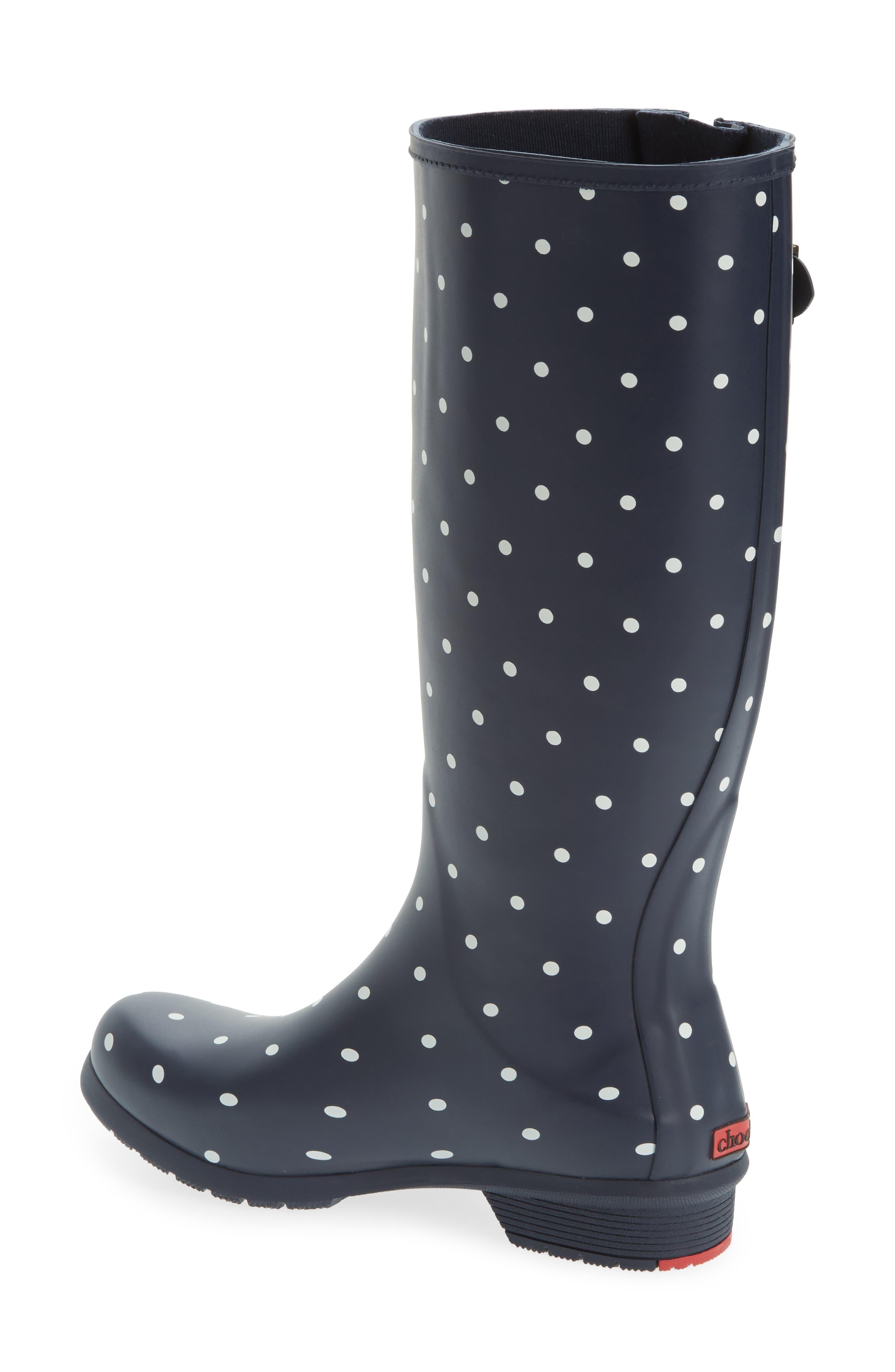 Alternate Image 2  - Chooka Classic Dot Rain Boot (Women)