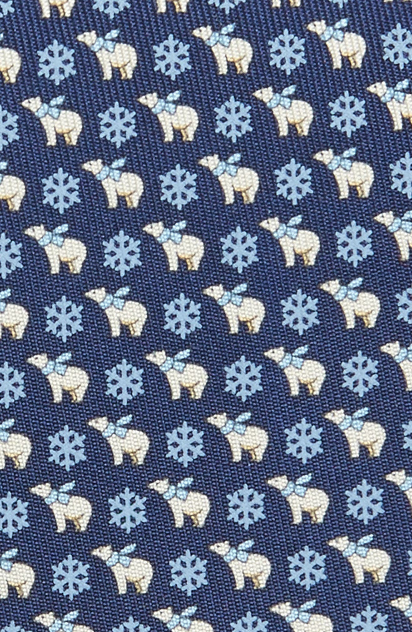 Alternate Image 2  - Salvatore Ferragamo Bear Print Silk Tie